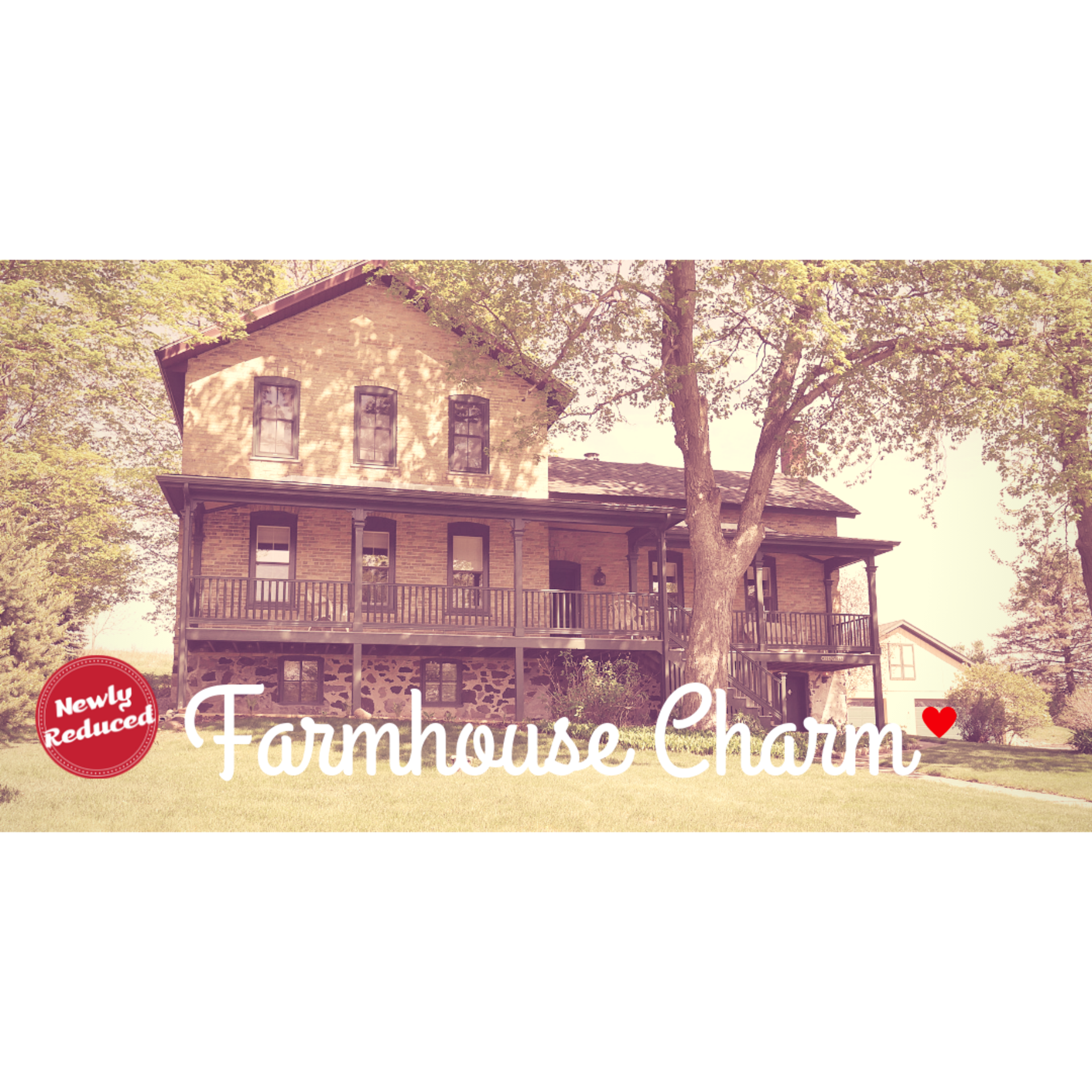 Remodeled Farmhouse for Sale