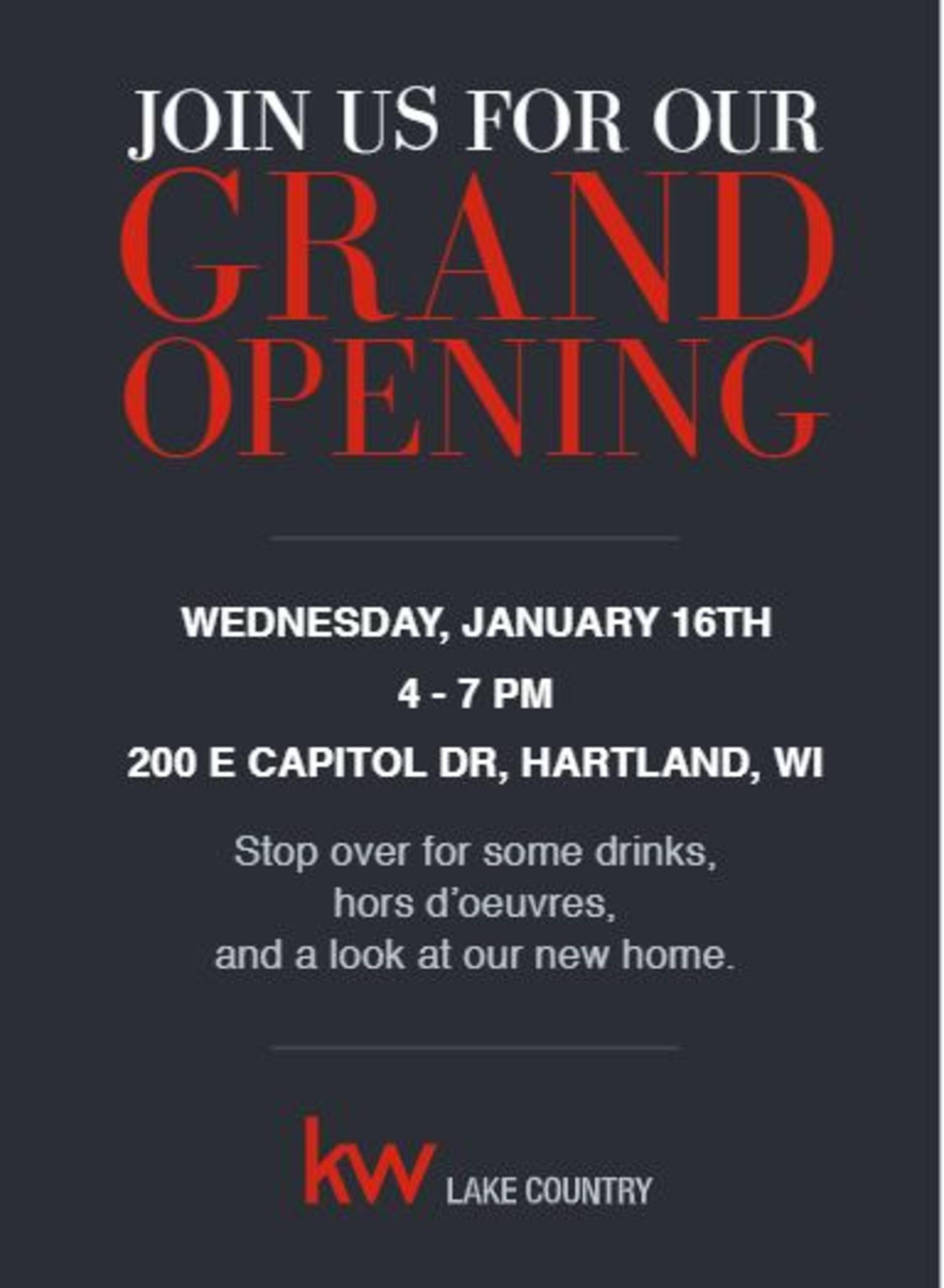 Keller Williams Lake Country Grand Opening!