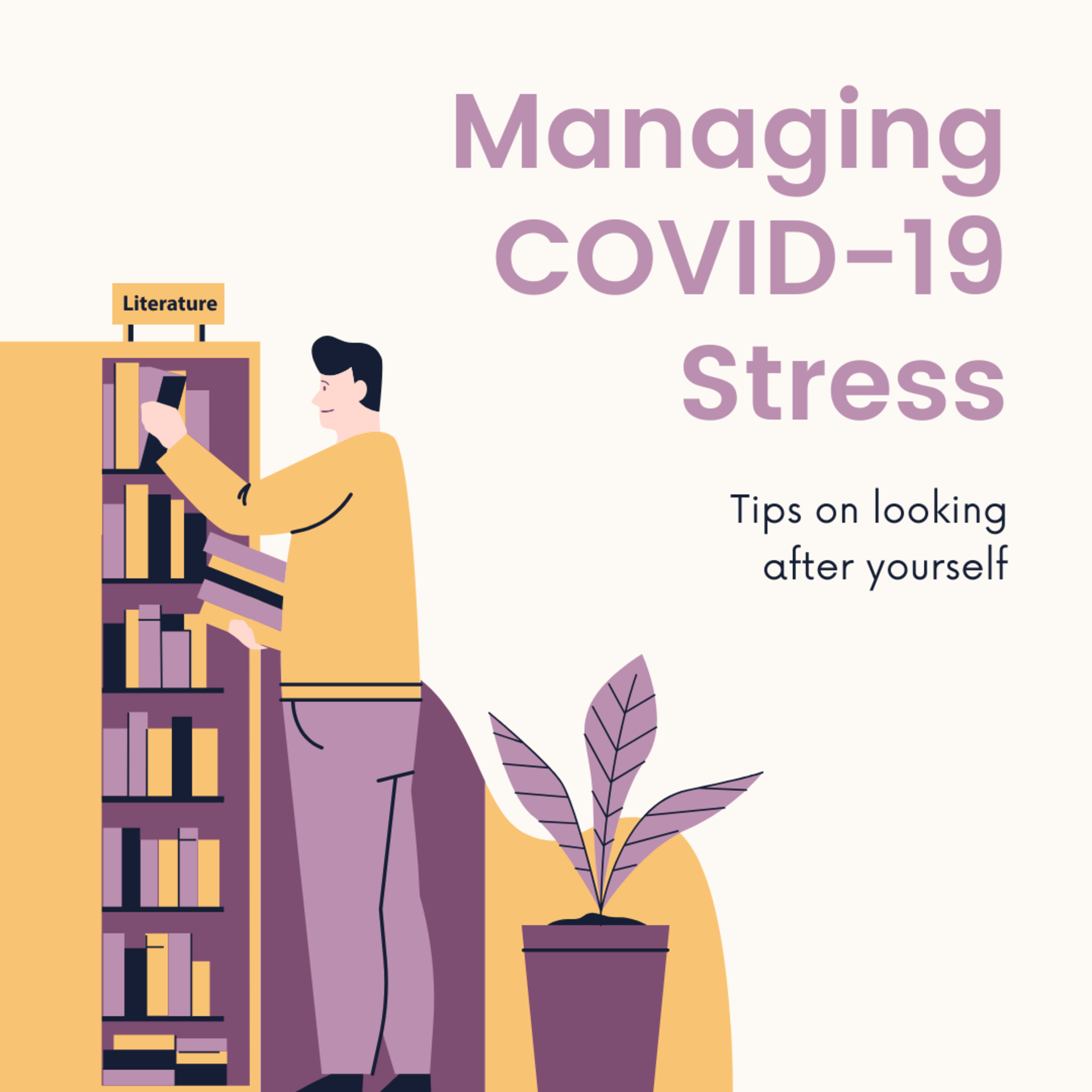How to manage COVID-19 stress