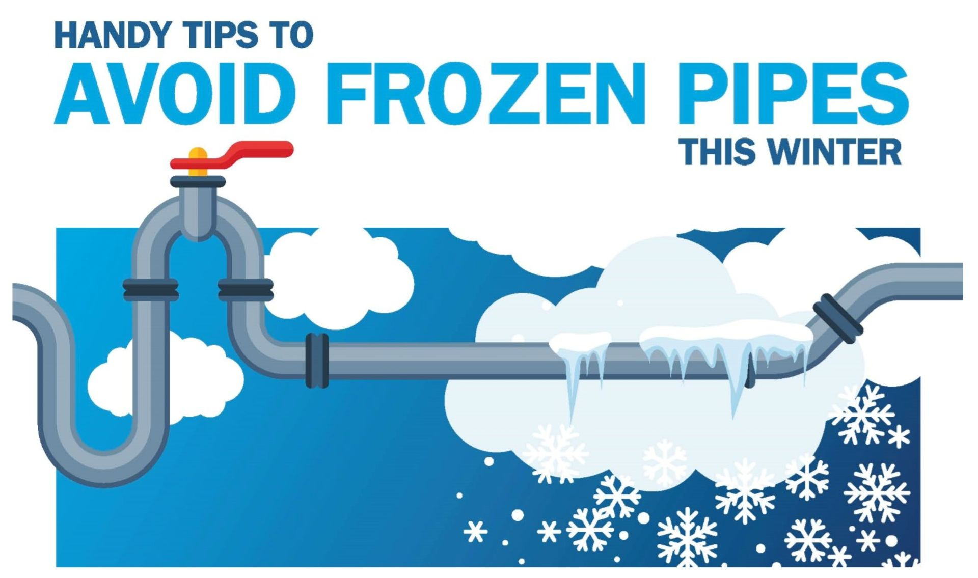 Preparing for Cold Weather and Preventing Frozen Pipes