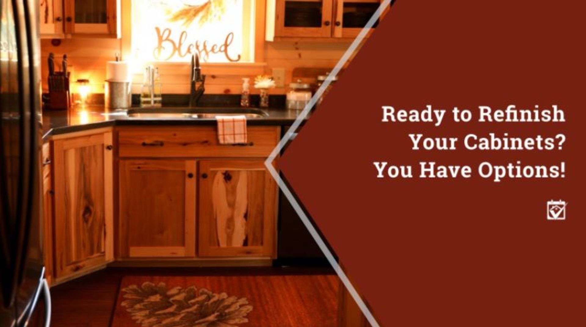 Ready to Refinish Your Cabinets? You Have Options!