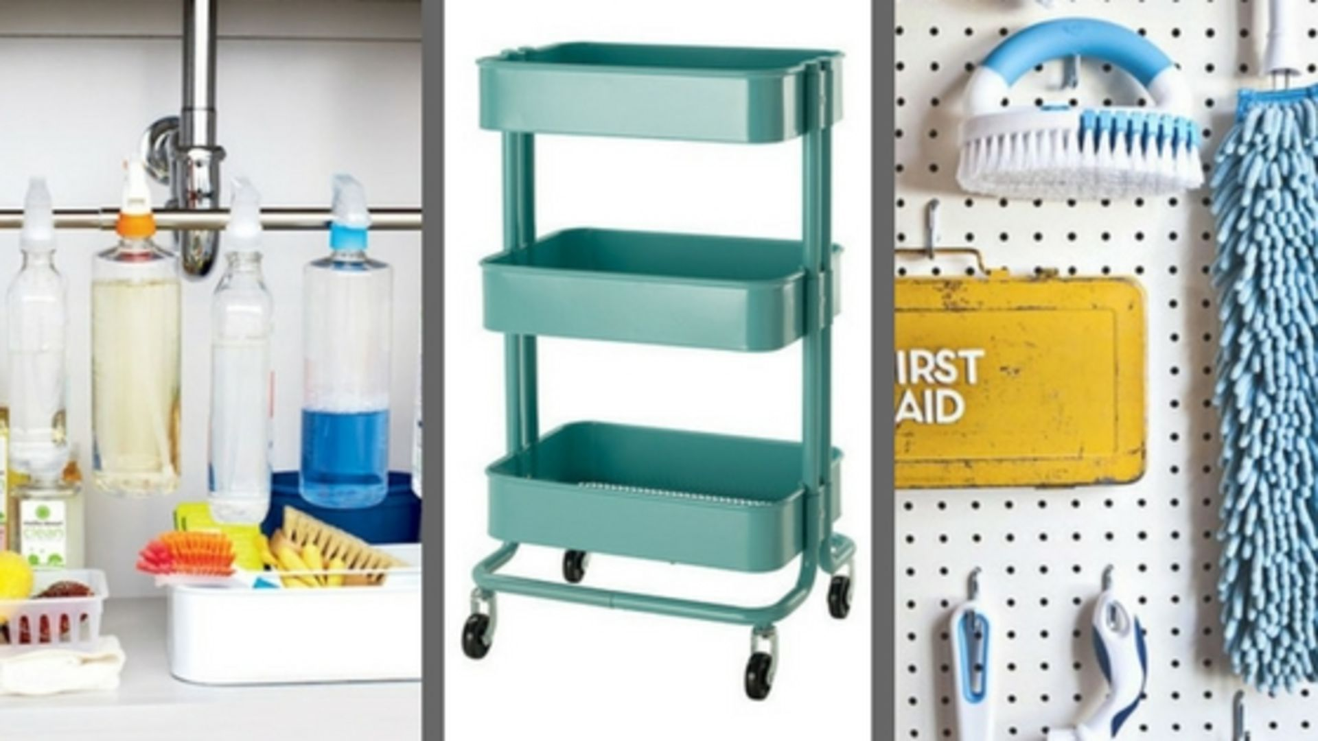 6 Fun & Easy Ways to Keep Cleaning Supplies Organized