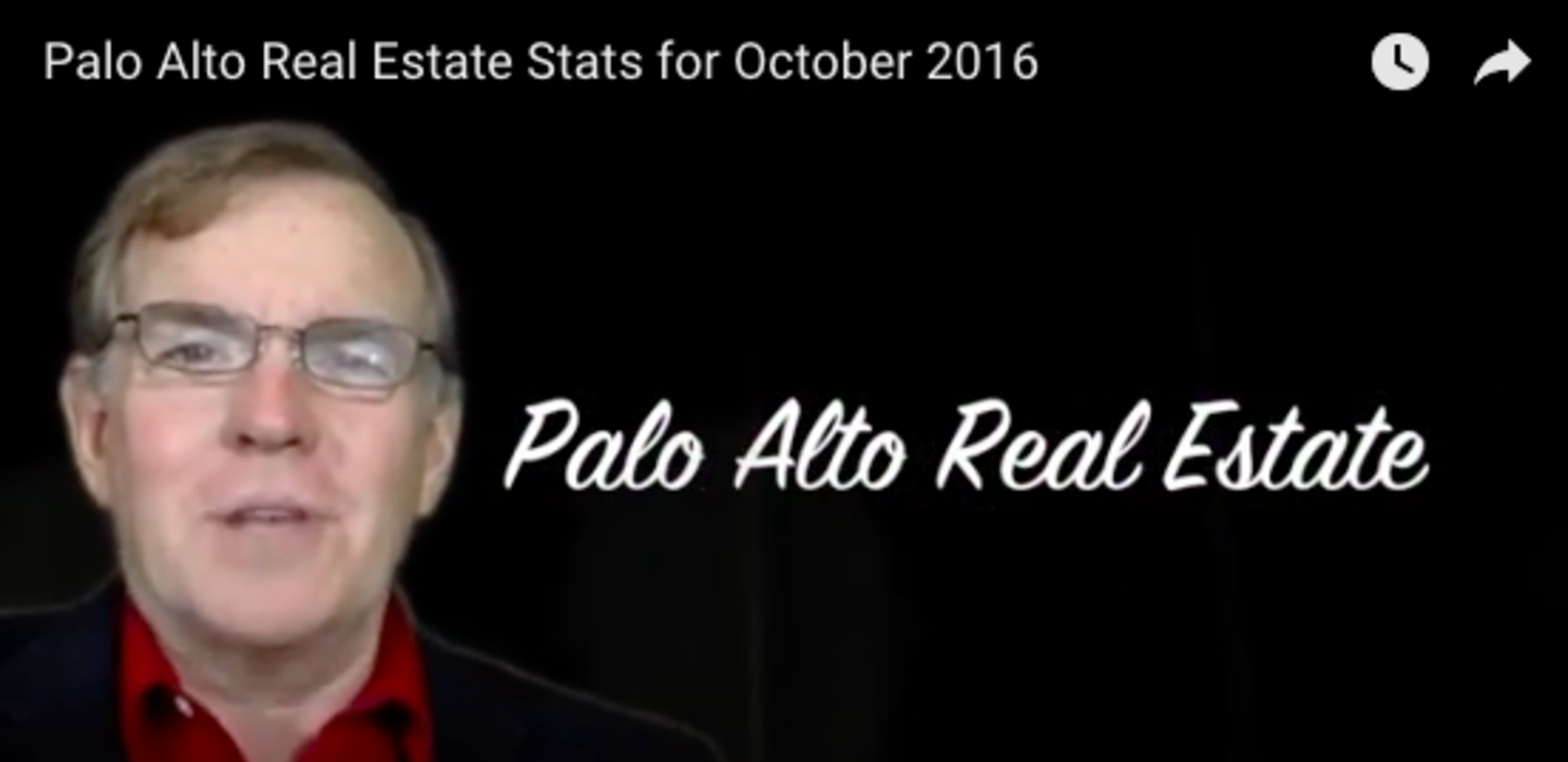 Palo Alto Market Stats October 2016
