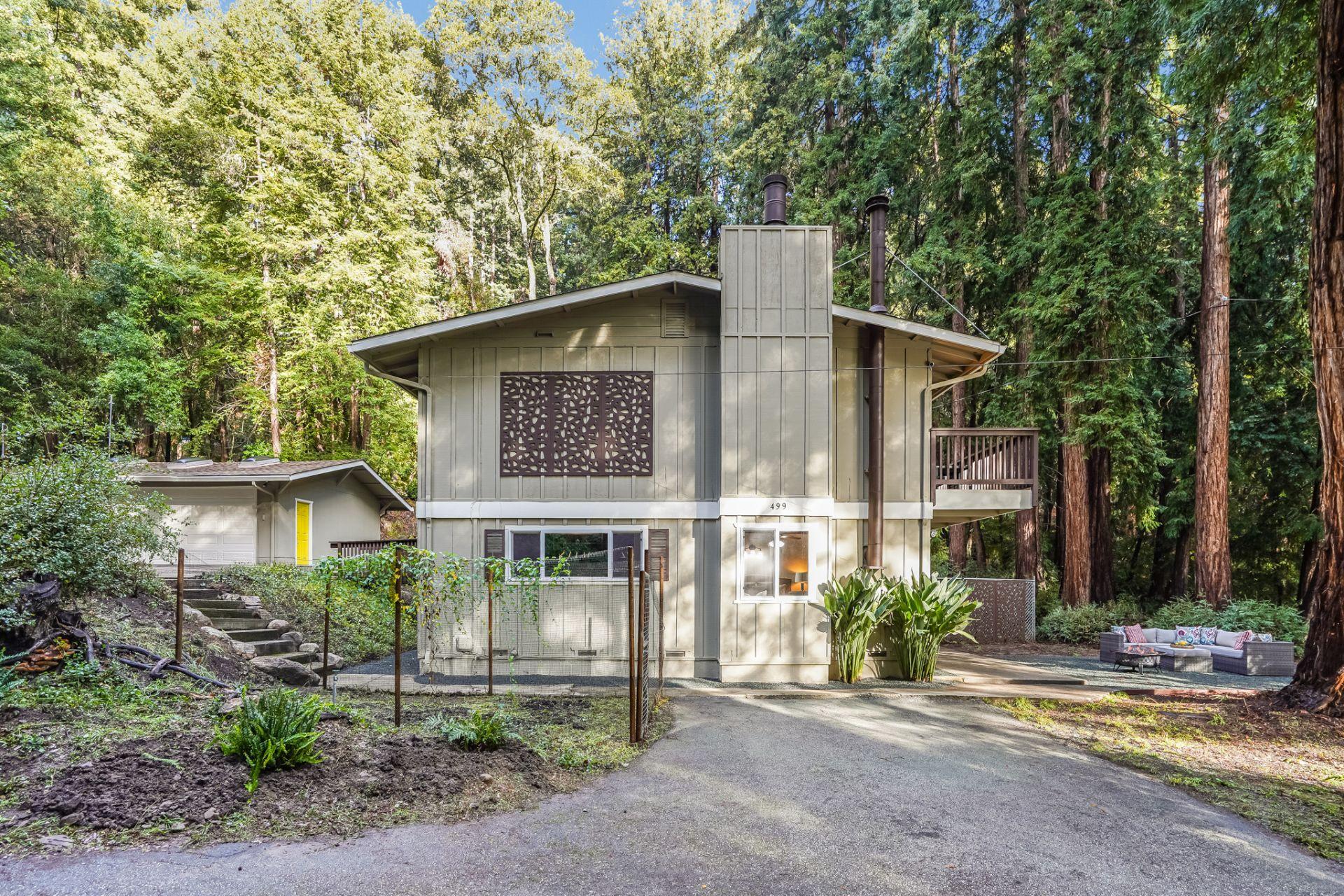 Closed! 499 Vine Hill Rd – Gorgeous Santa Cruz Mountains