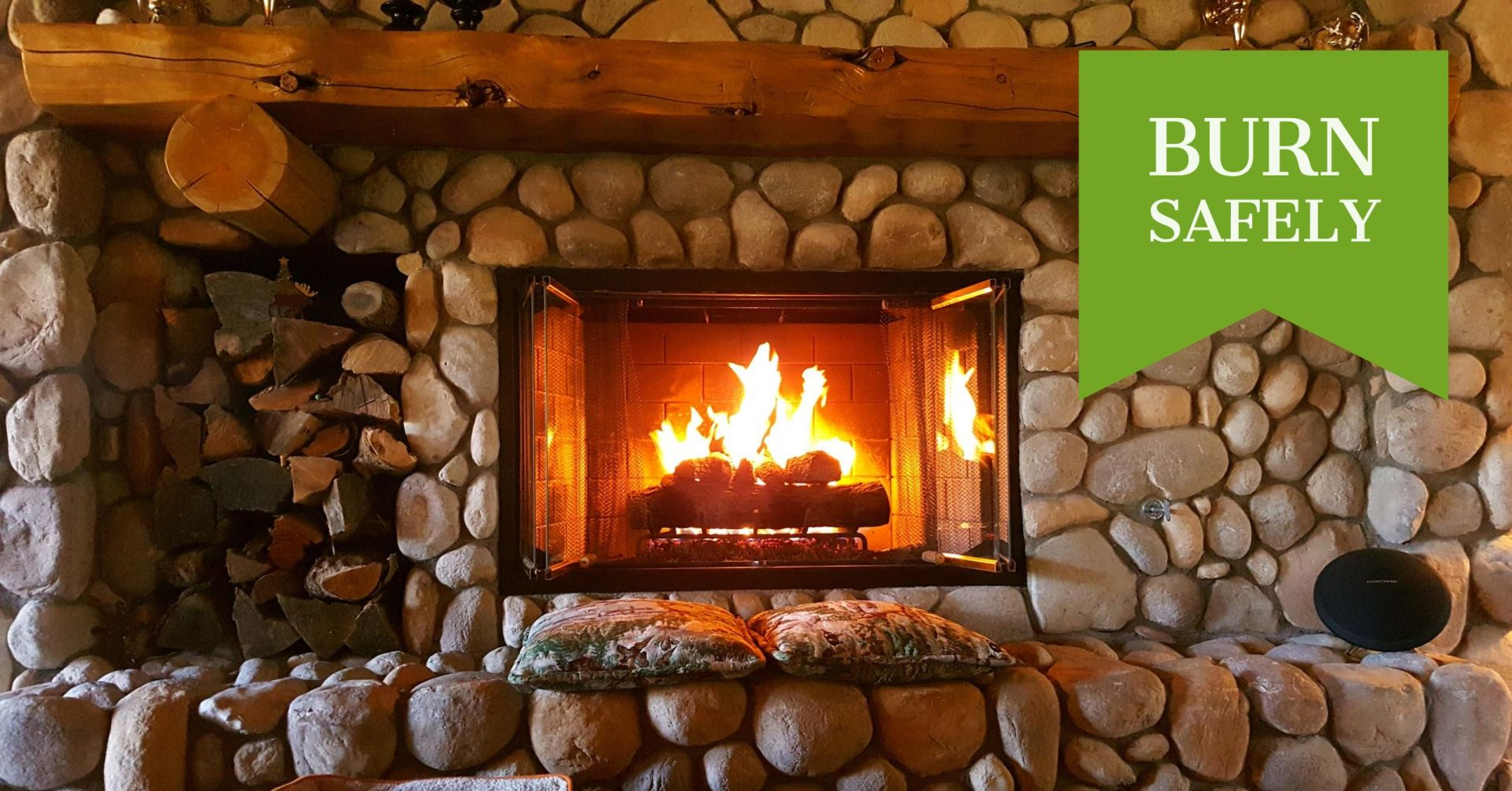 Colin's 1 Minute Monday – Episode 4 – Fireplace Safety