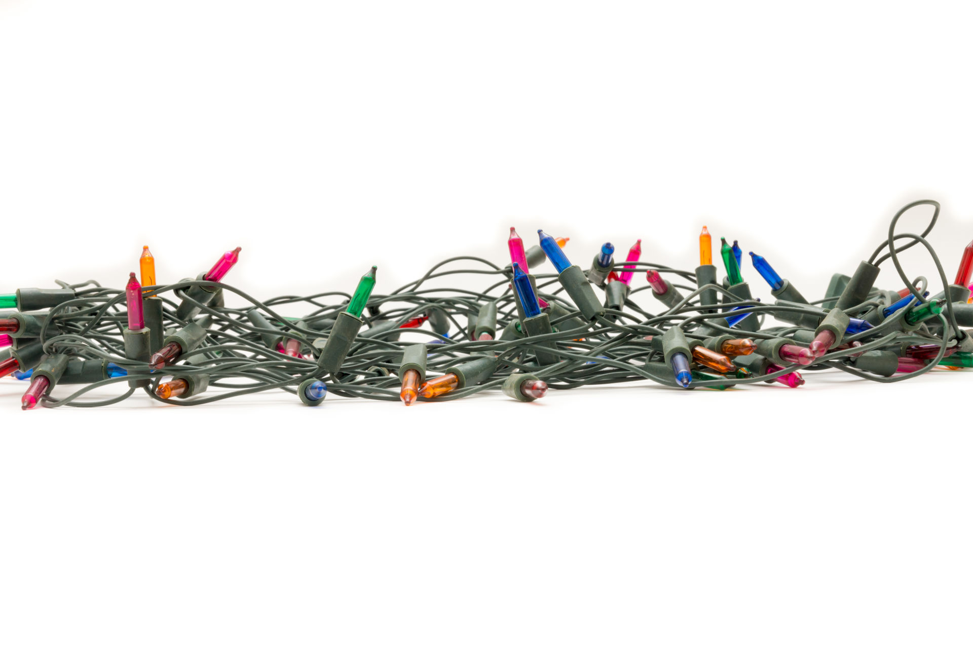 We're Collecting Old Holiday Lights For Donation or Recycling