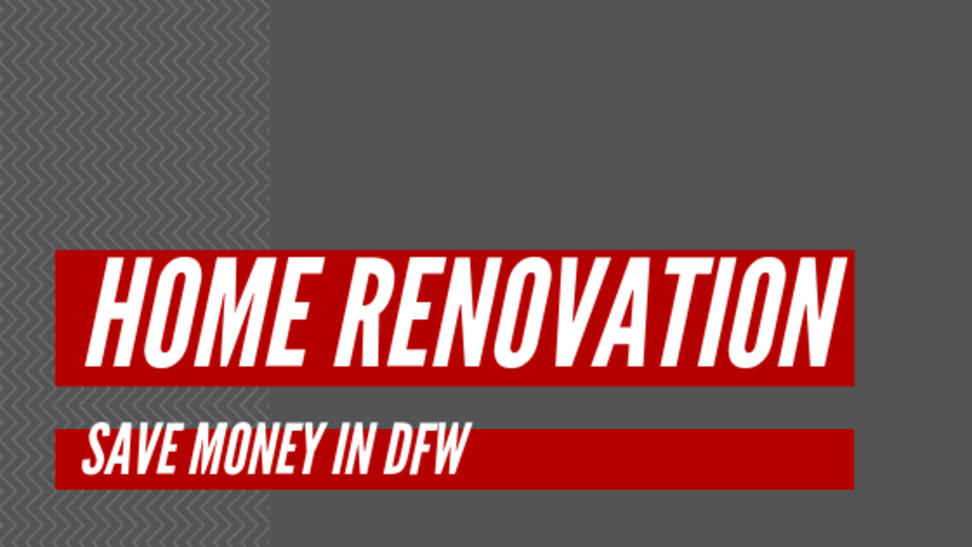 Save Money on Your Home Remodels