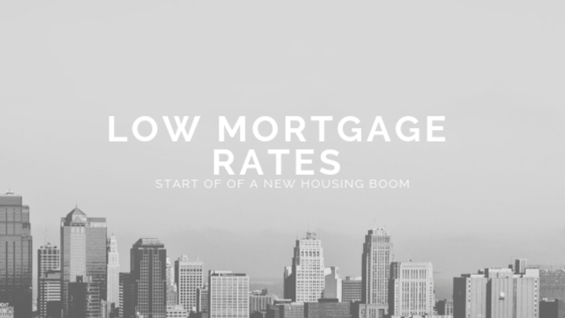Low Mortgage Rates Gets Americans Back Into The Housing Market