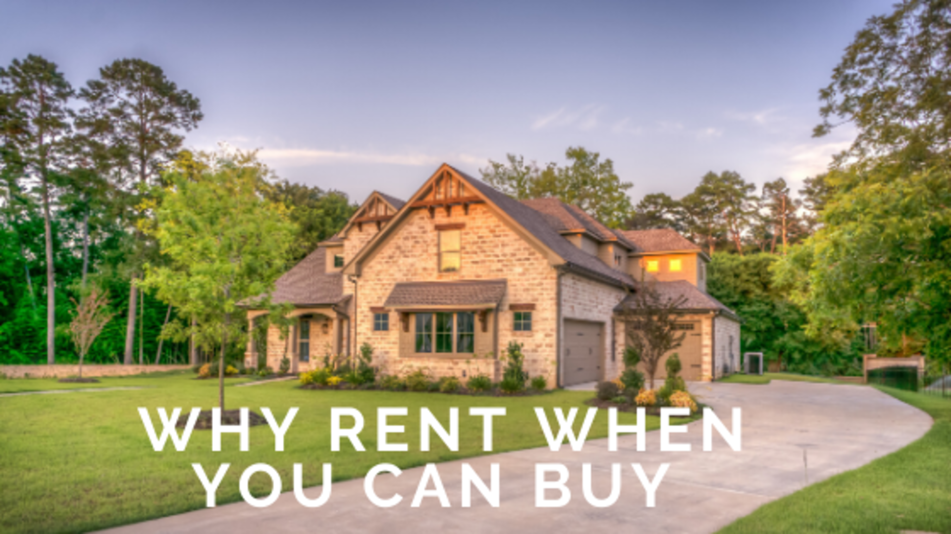 Why Rent When You Can Buy ? A look at Dallas' Renting Crisis.