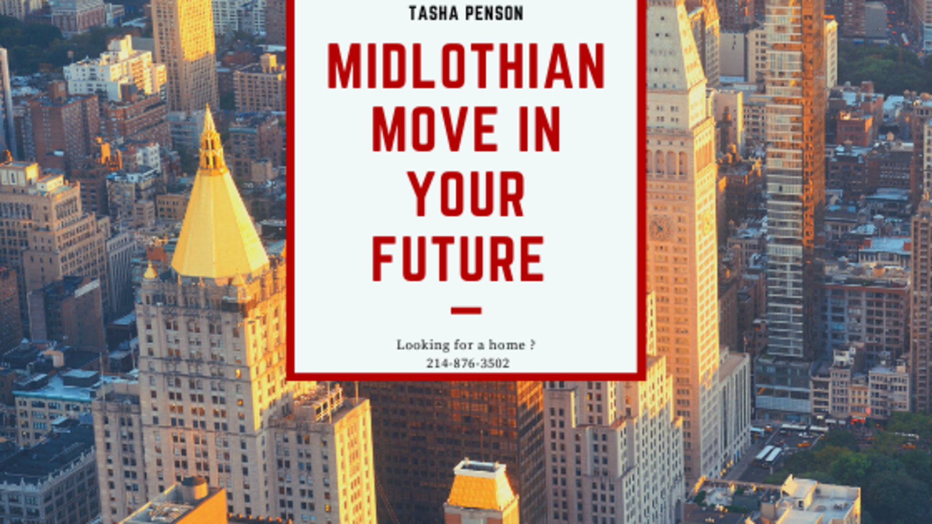 Midlothian Move in Your Future ?