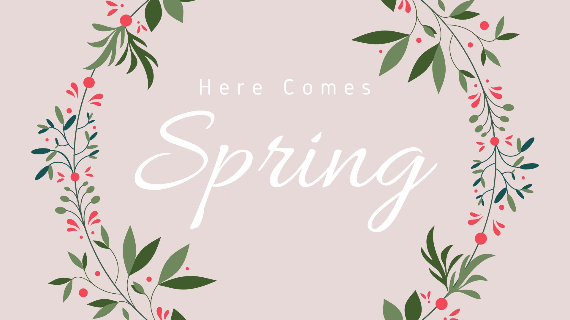 Spring Edition Maintenance Checklist