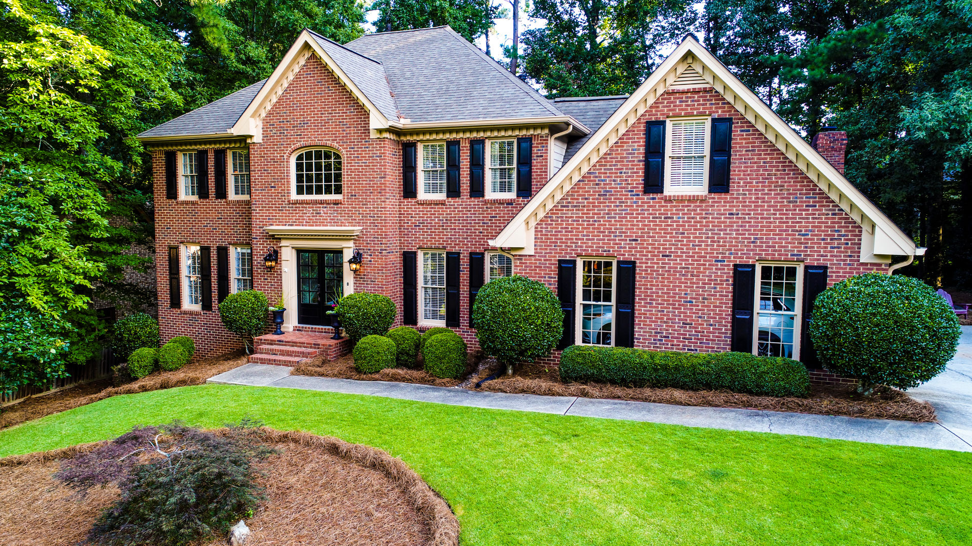 DRONE VIDEO – Renovated Dream Come True In Johns Creek