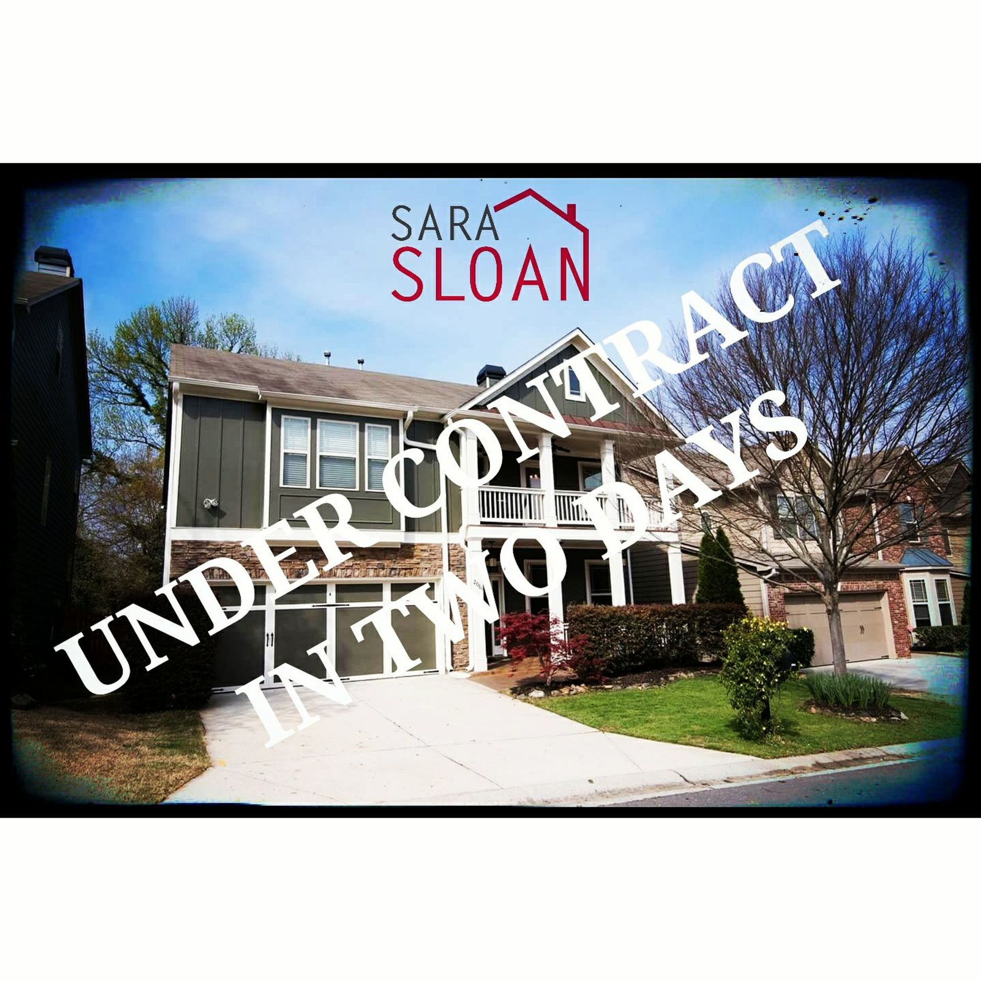Under contract in Atlanta in two days!