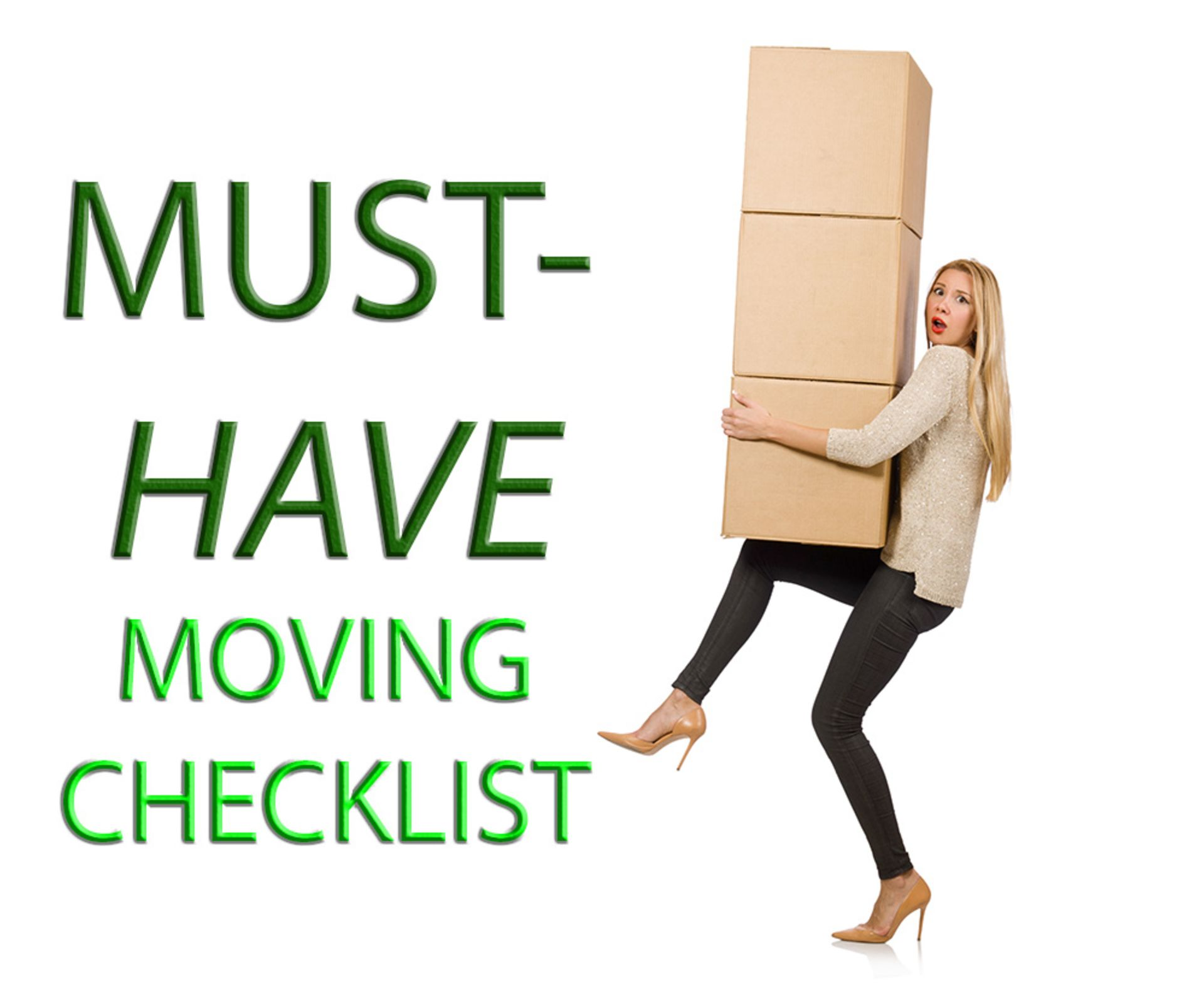 Must-Have Moving Checklist