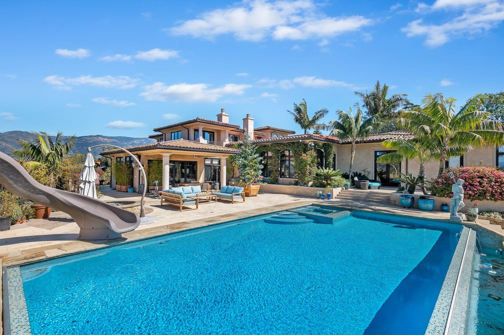 Luxury Santa Barbara Estate For Lease 4/21-12/21