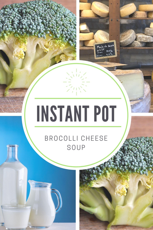 Realtor Recipe: Instant Pot Broccoli Cheese Soup