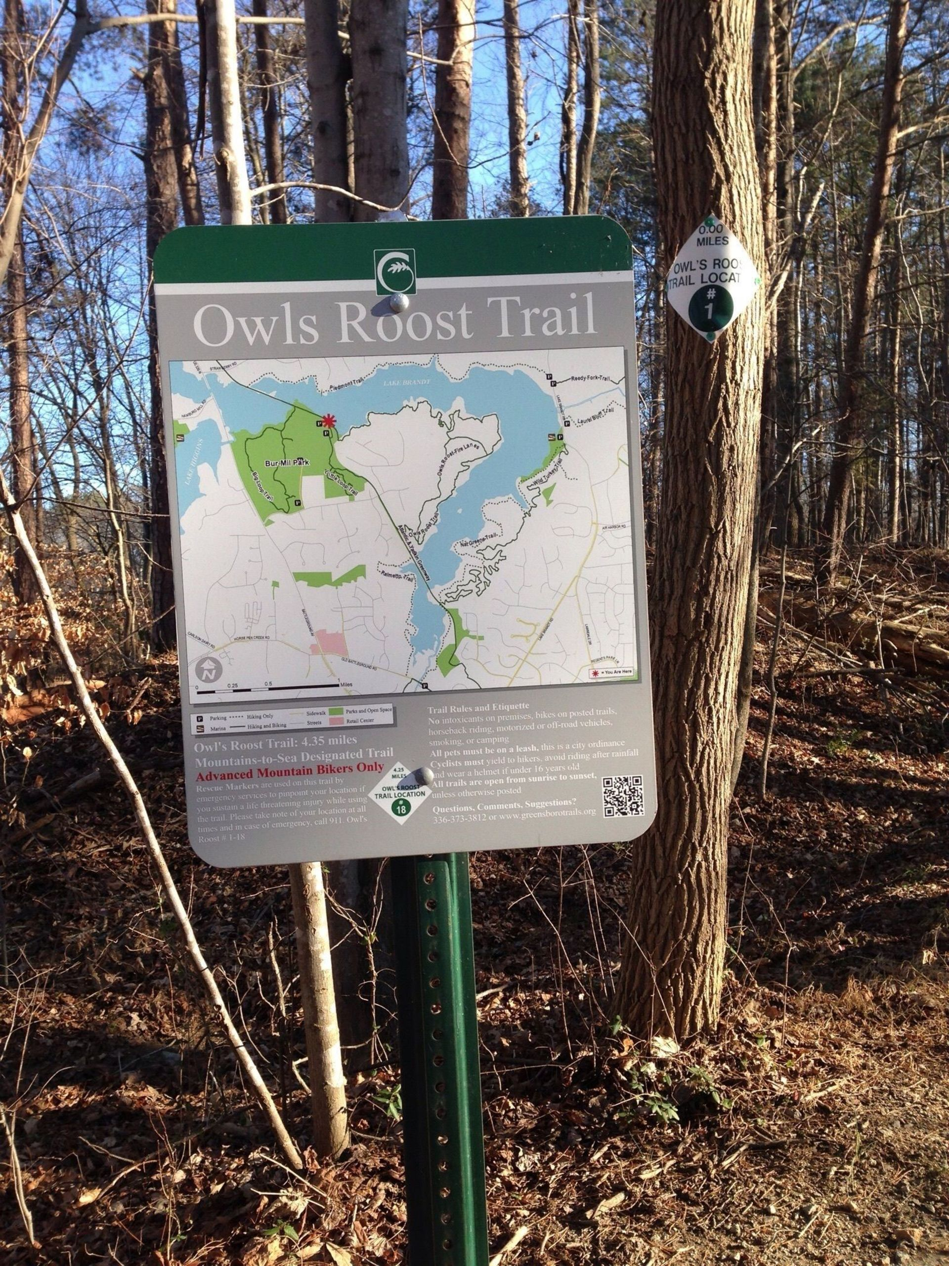 Explore Greensboro's Hiking & Biking Trails