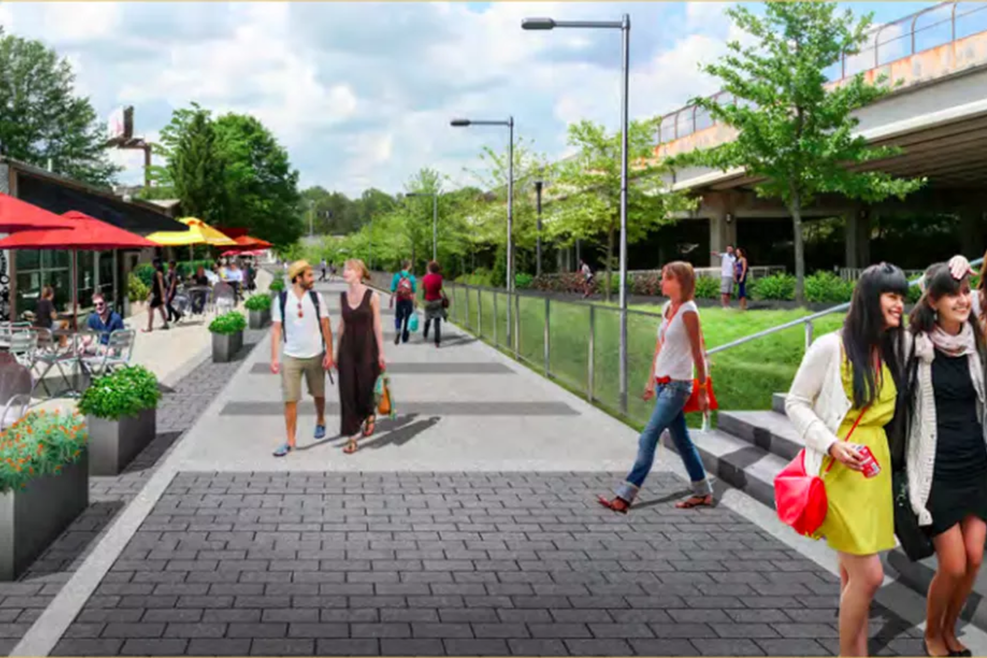 Chamblee set to extend multi-use Rail Trail, launch Peachtree Road streetscape project