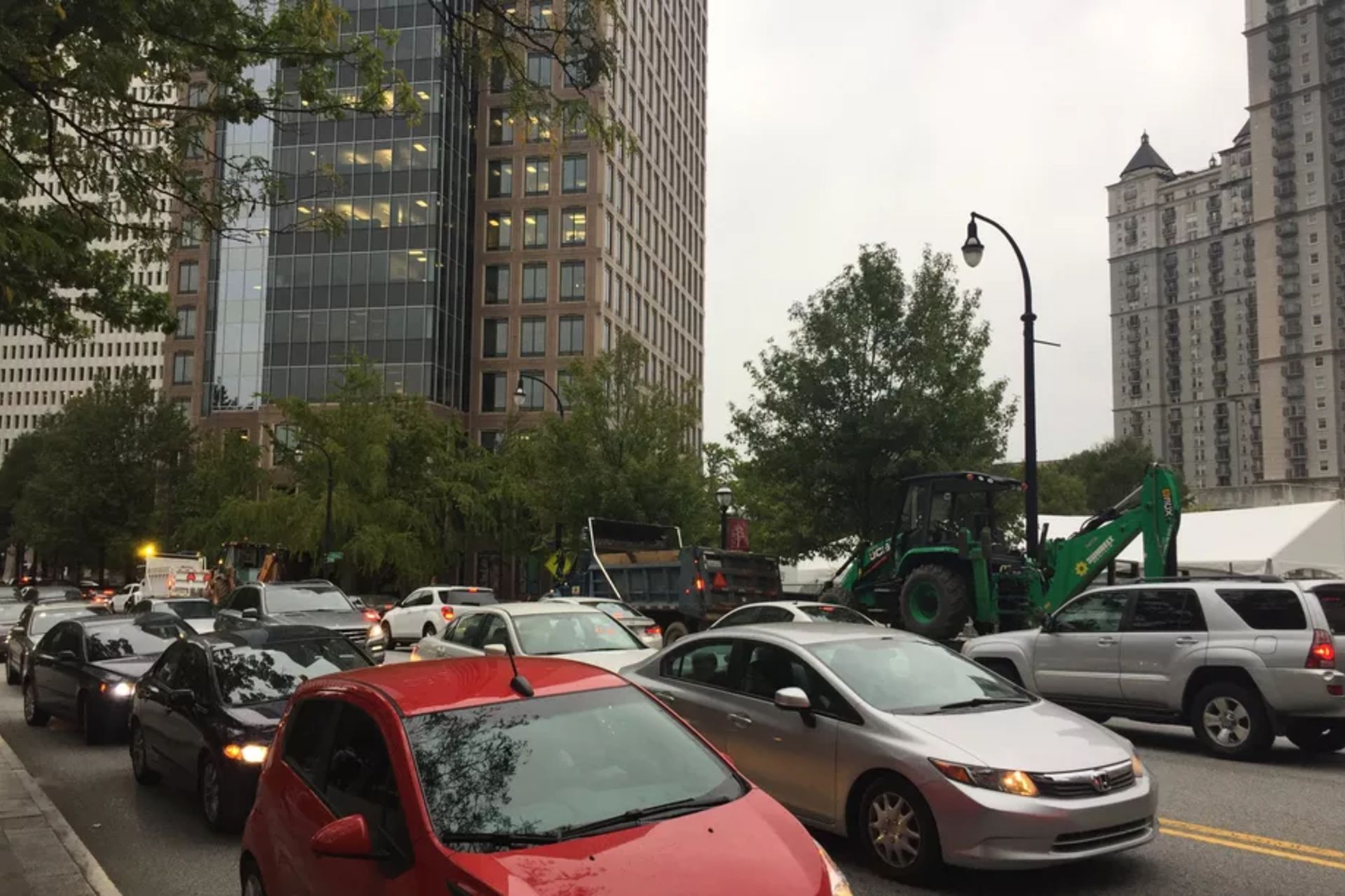 Poll: Should Atlanta charge out-of-towners to drive through Buckhead, Midtown?