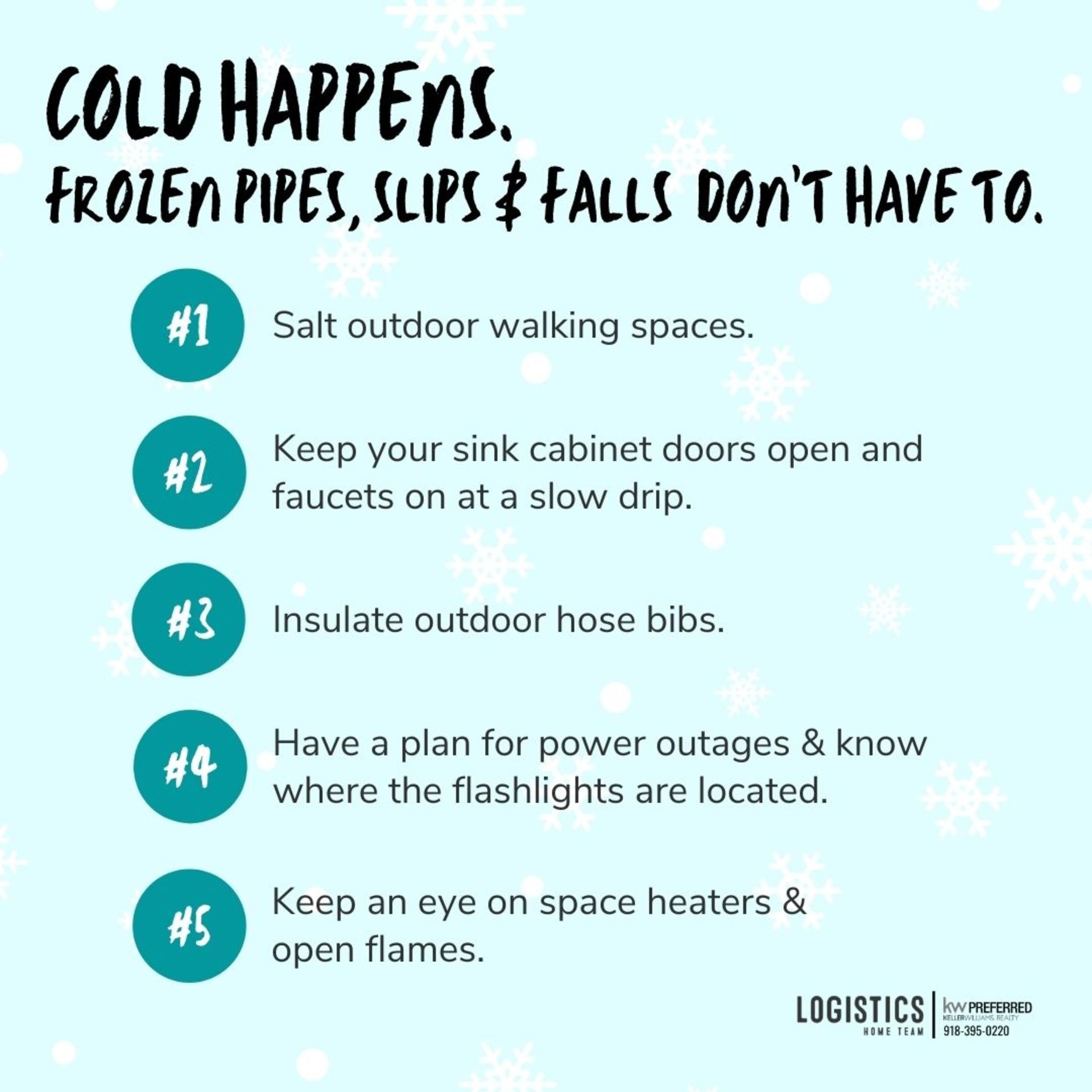 COLD HAPPENS!