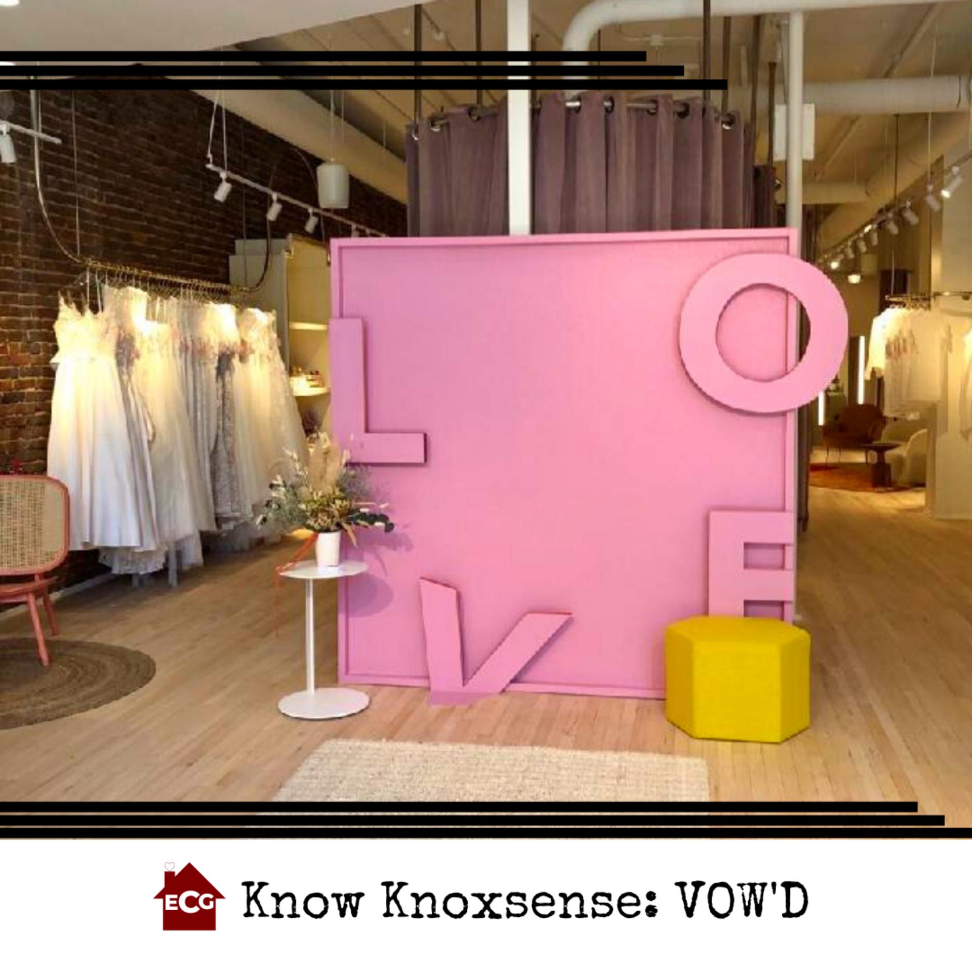 Know Knoxsense: Vow'd