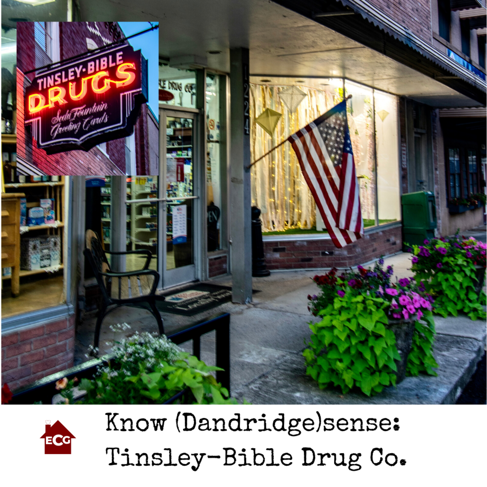 Know Knoxsense: Tinsley- Bible Drug Co.