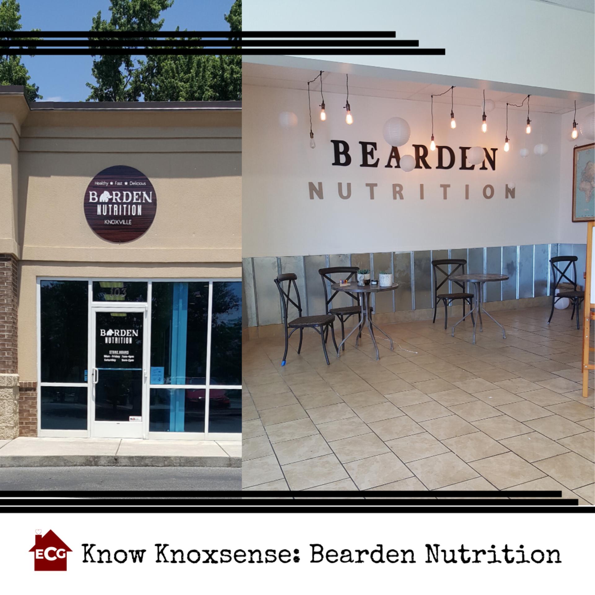 Know Knoxsense: Bearden Nutrition