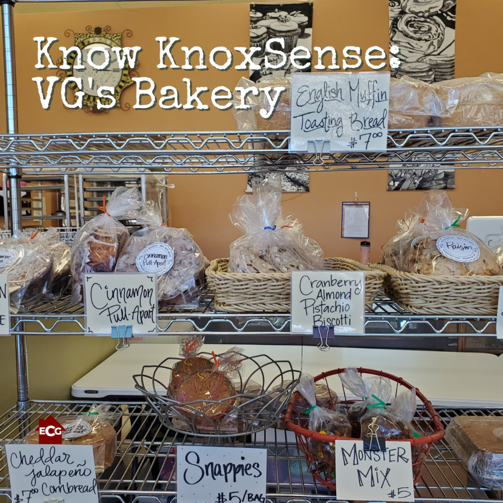 Know Knoxsense: VG's Bakery