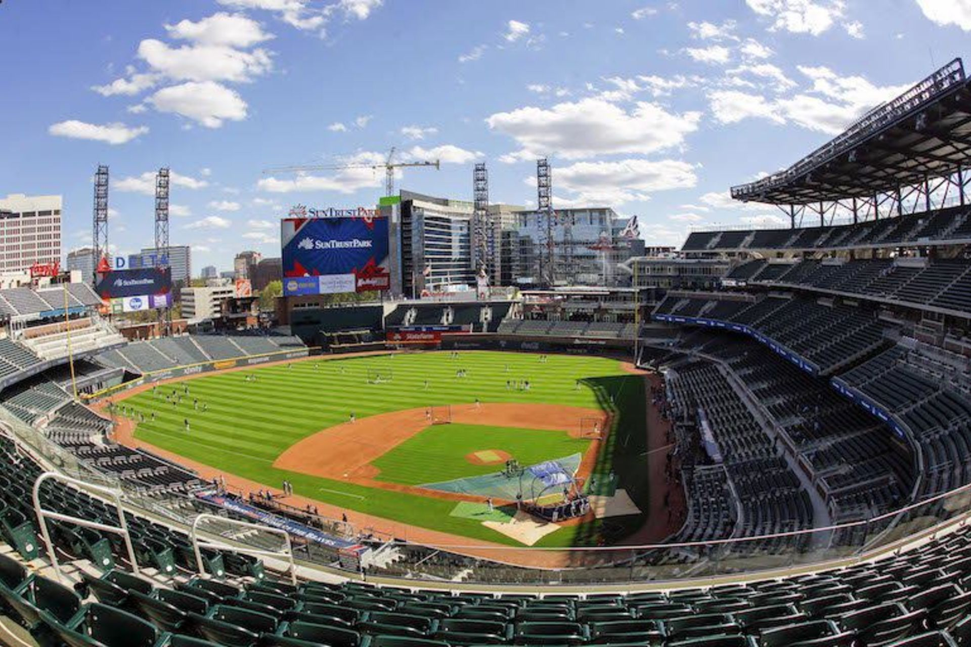 Suntrust Park Makes a Big Impact