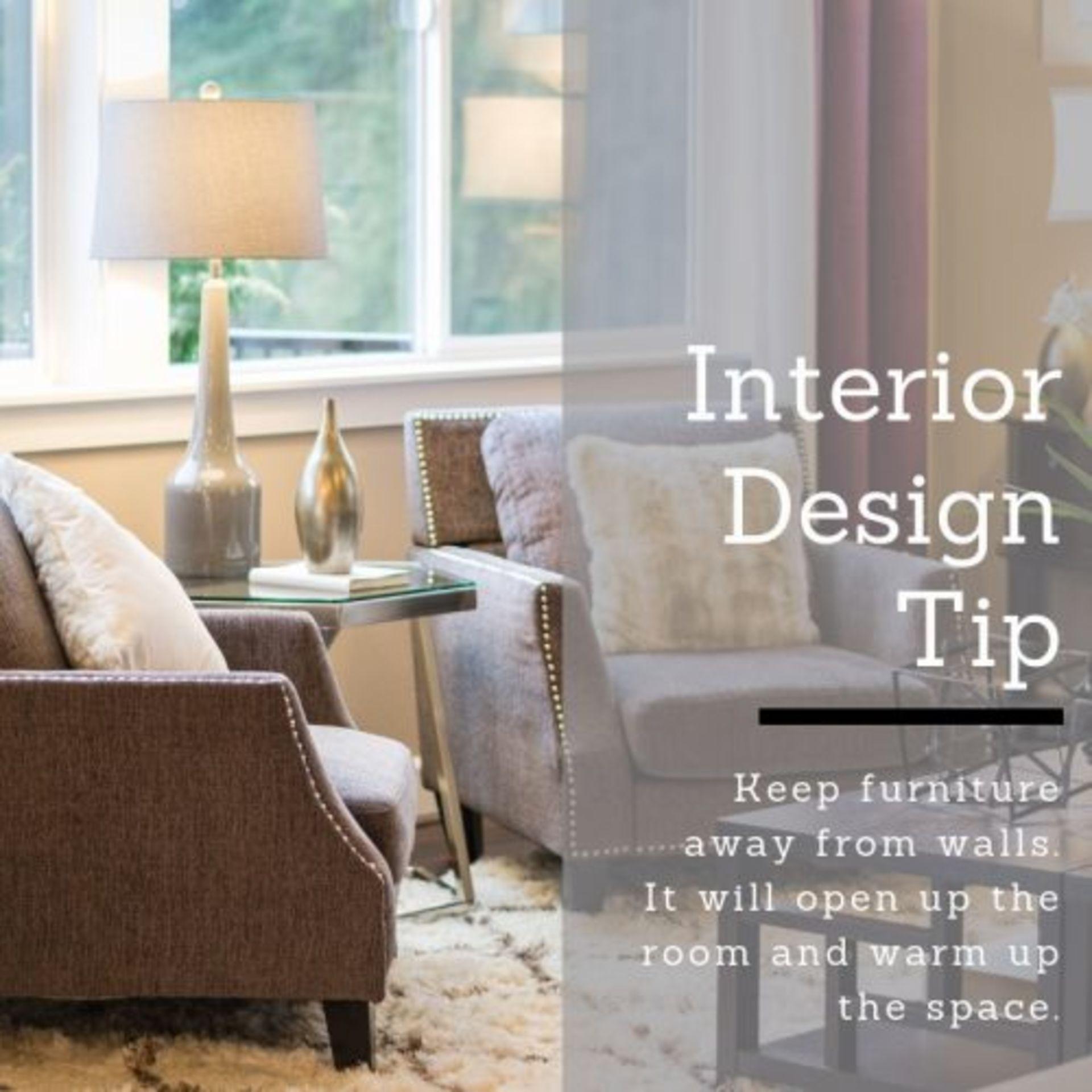 Interior Design THURSDAY TIP!
