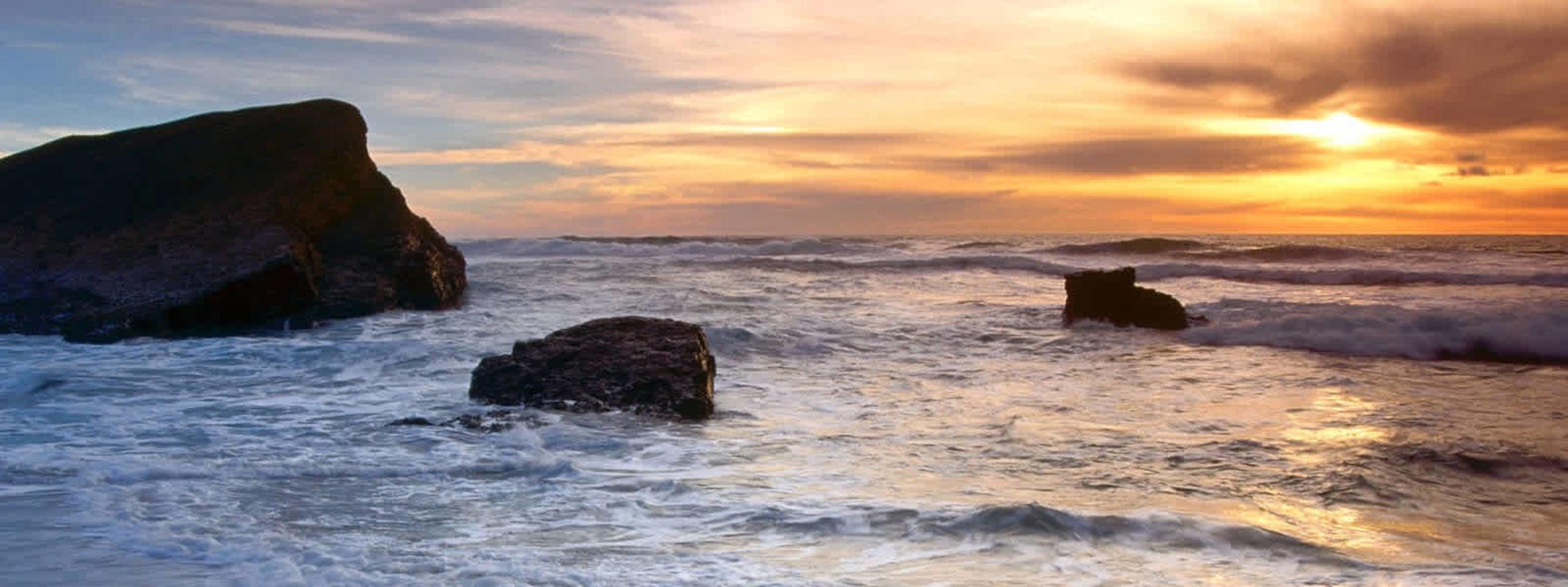 Enjoy the striking seaside views