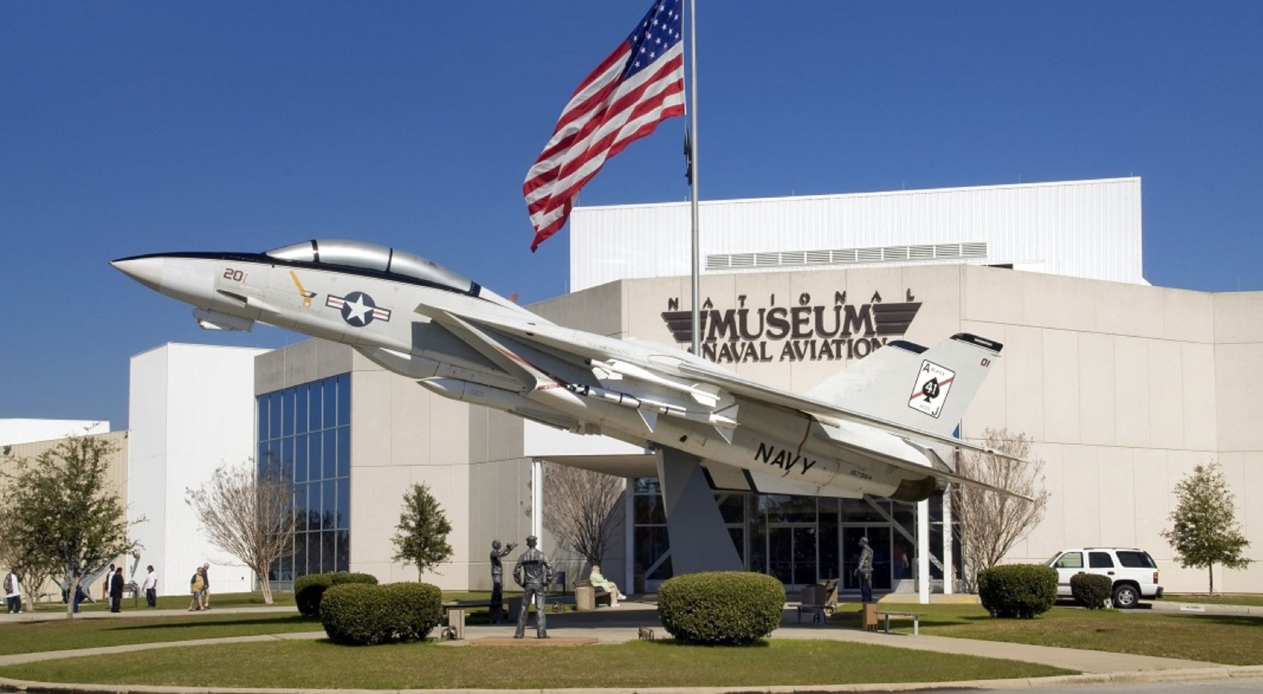 Home of the naval aviation museum and national flight academy