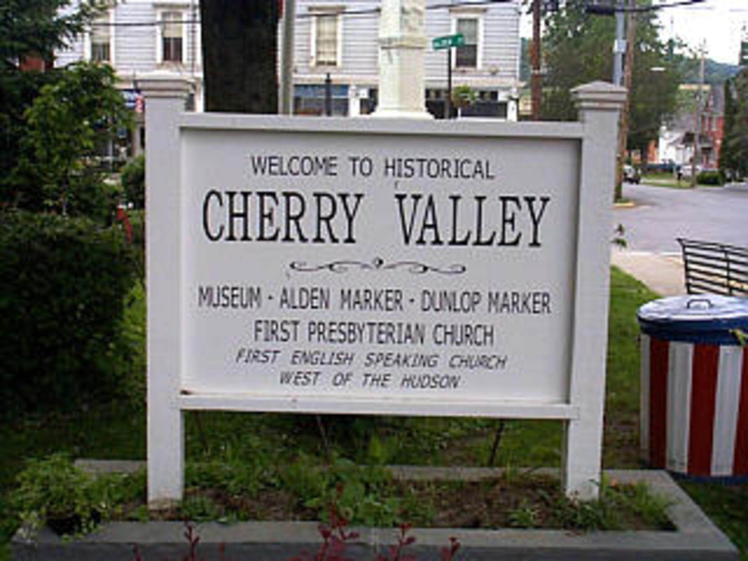 Historical Cherry Valley Village