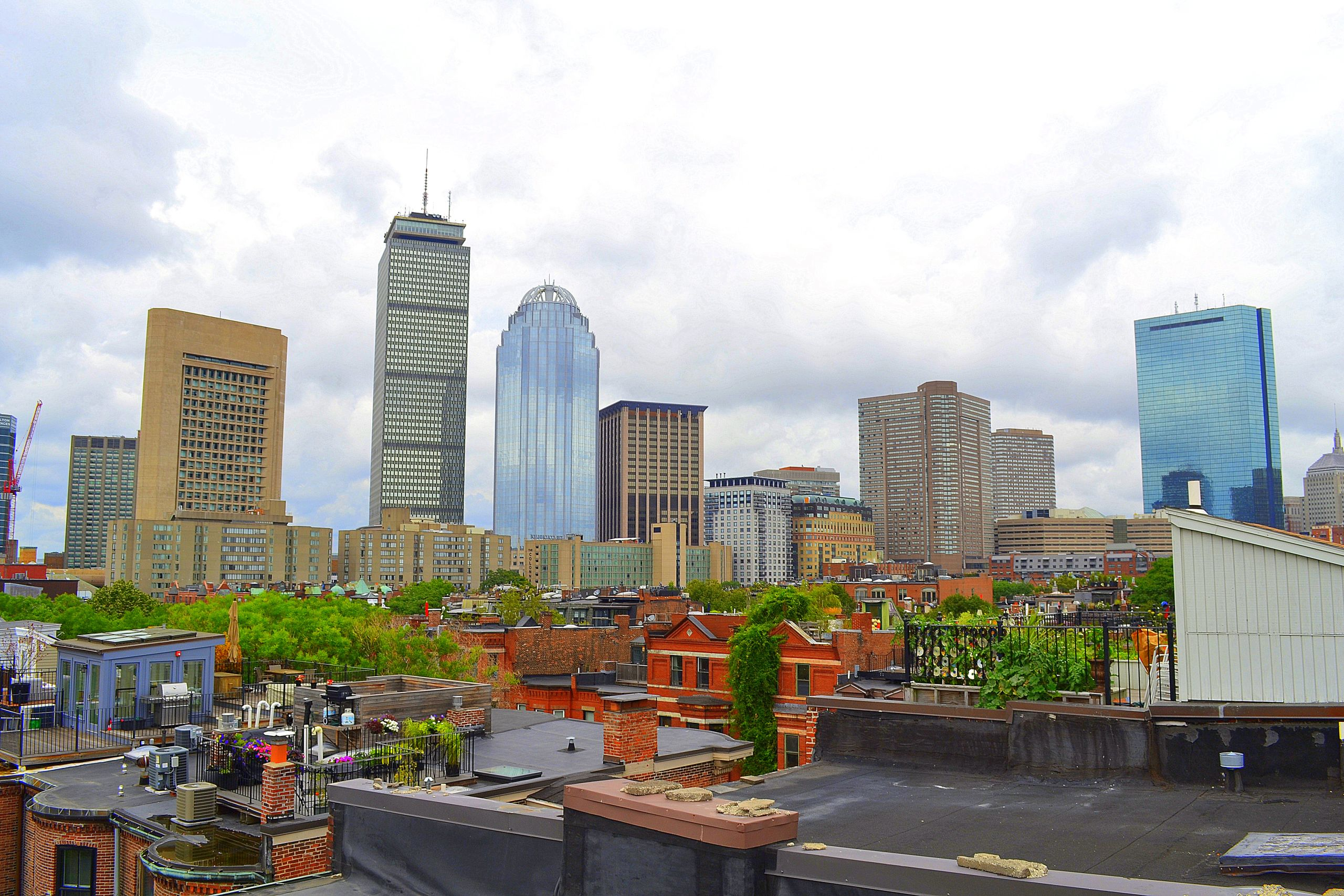View from South End Roof Deck