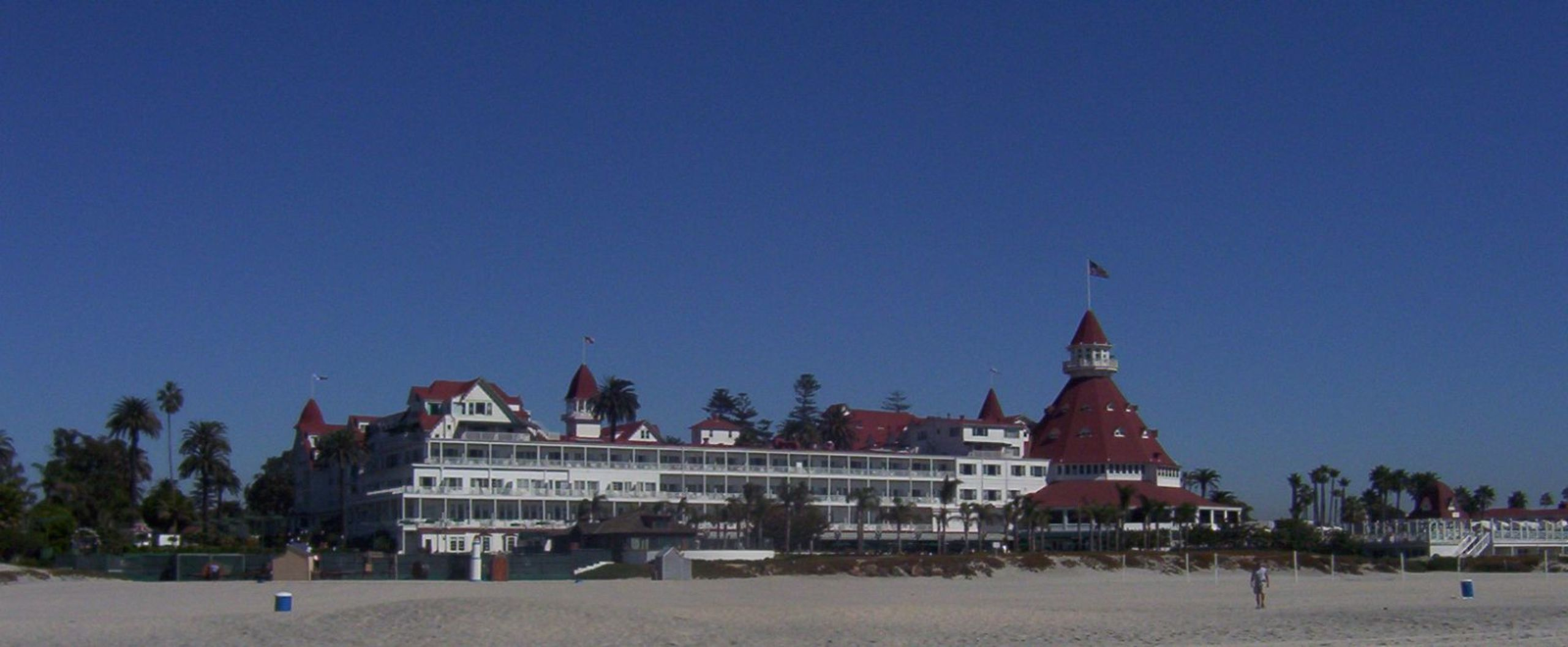 Hotel Del Coronado is a place to see and enjoy...