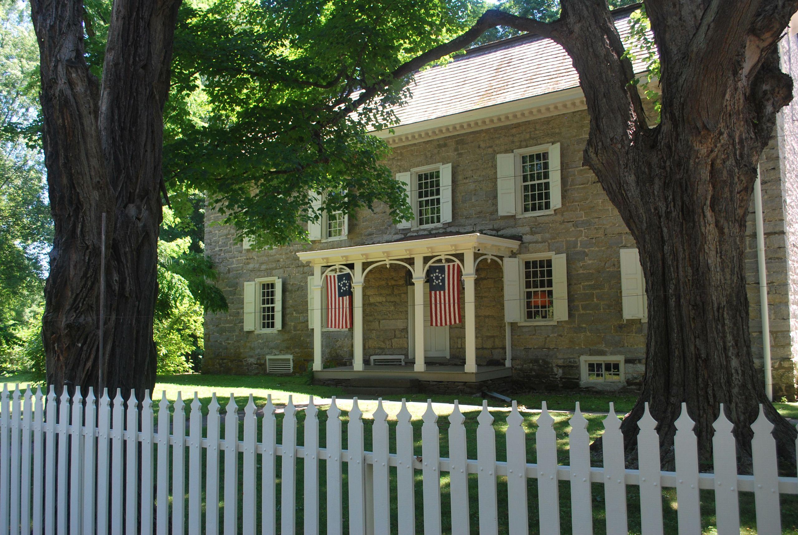 Historic Wynkoop House, Stone Ridge, Town of Marbletown