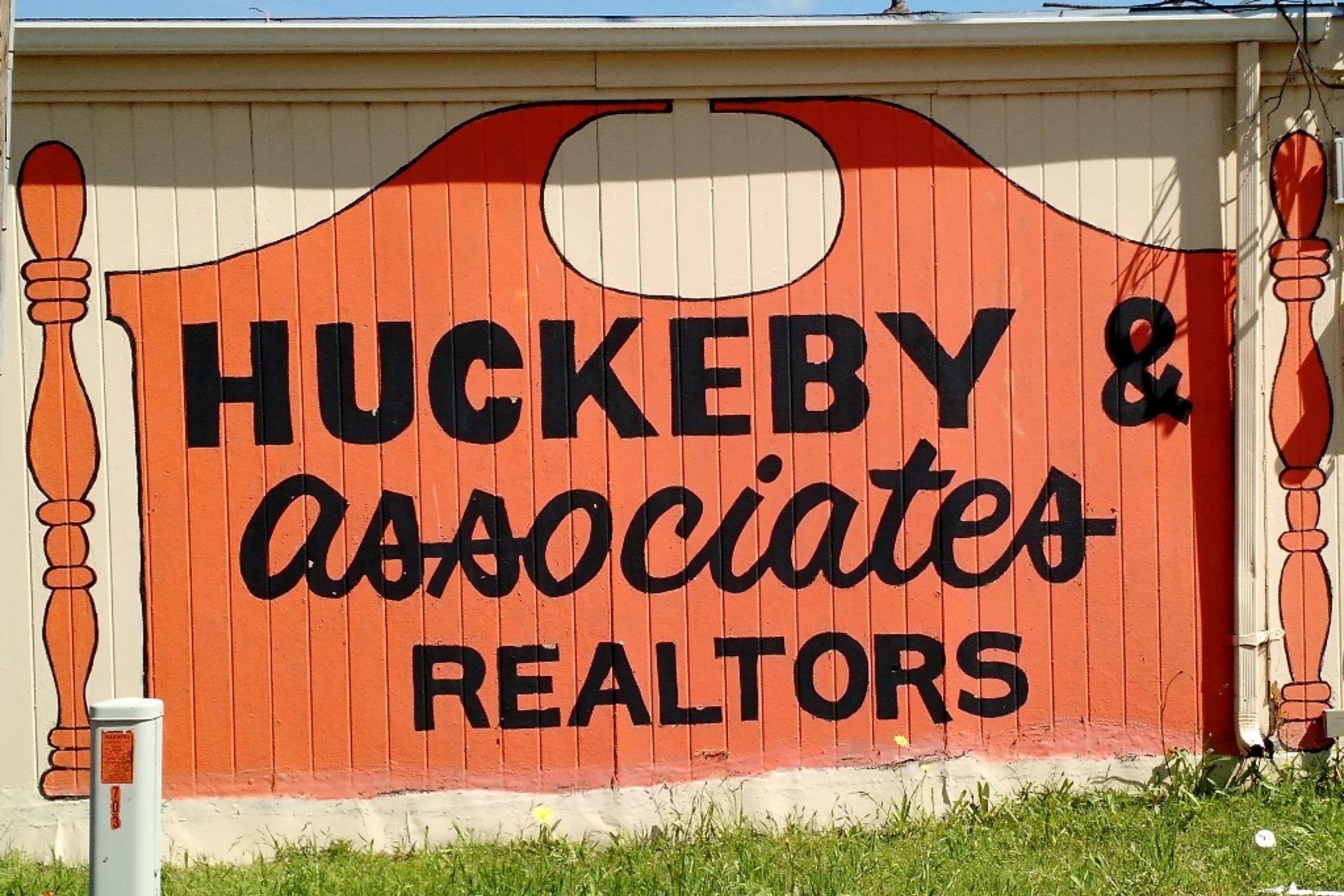 1970 Era Huckeby Sign