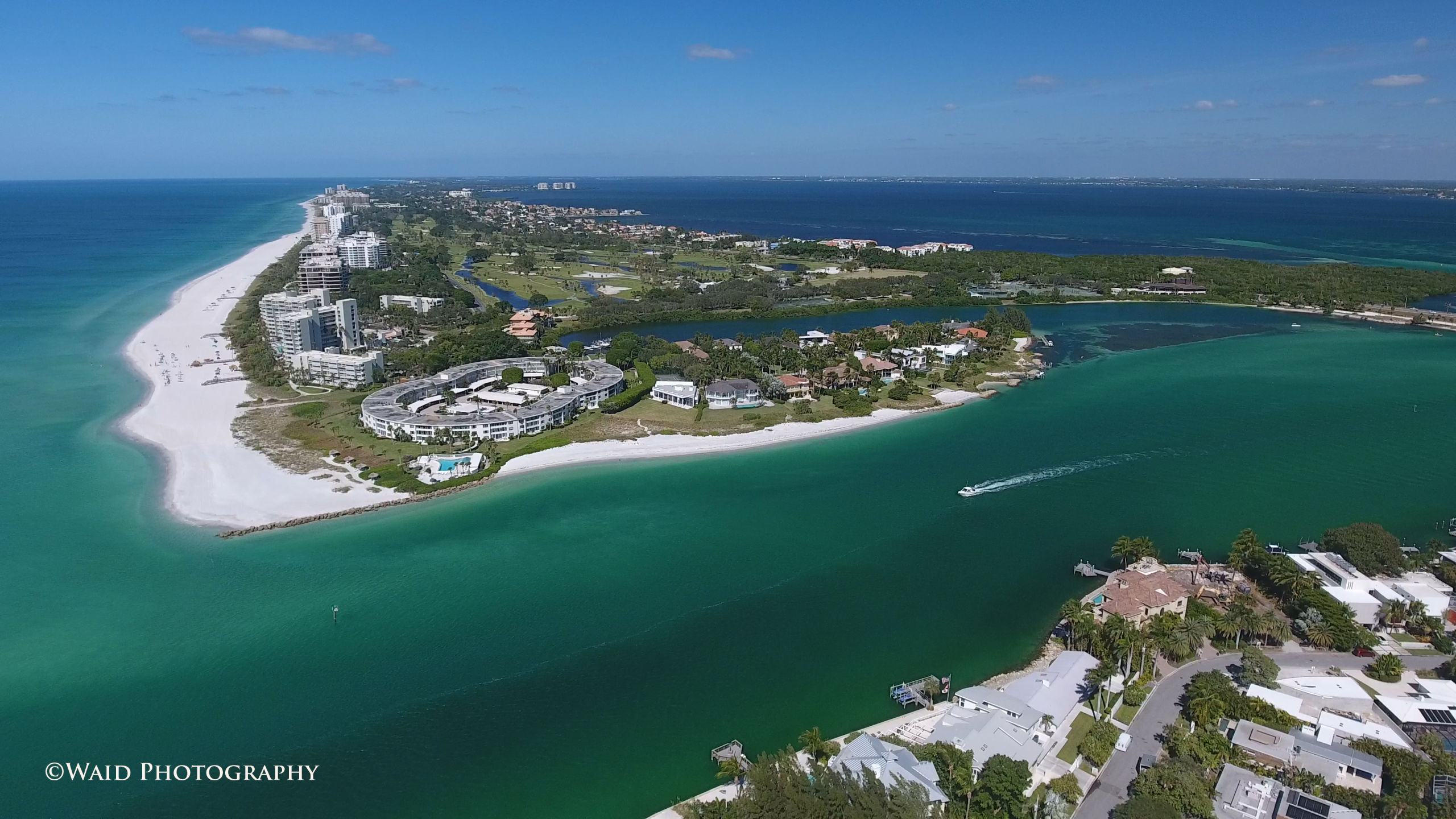 Longboat Key and New Pass