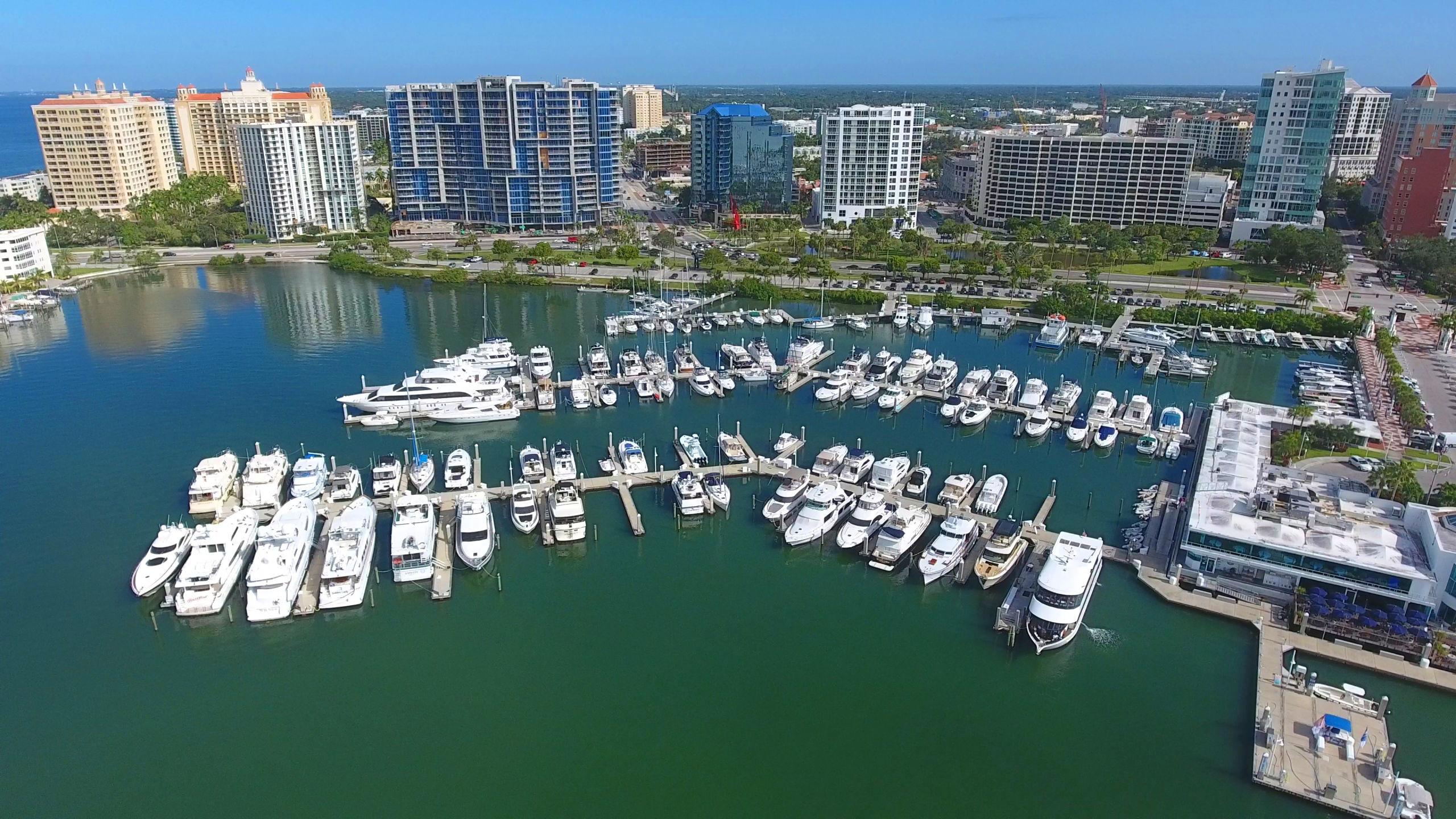 Downtown Sarasota and Marina