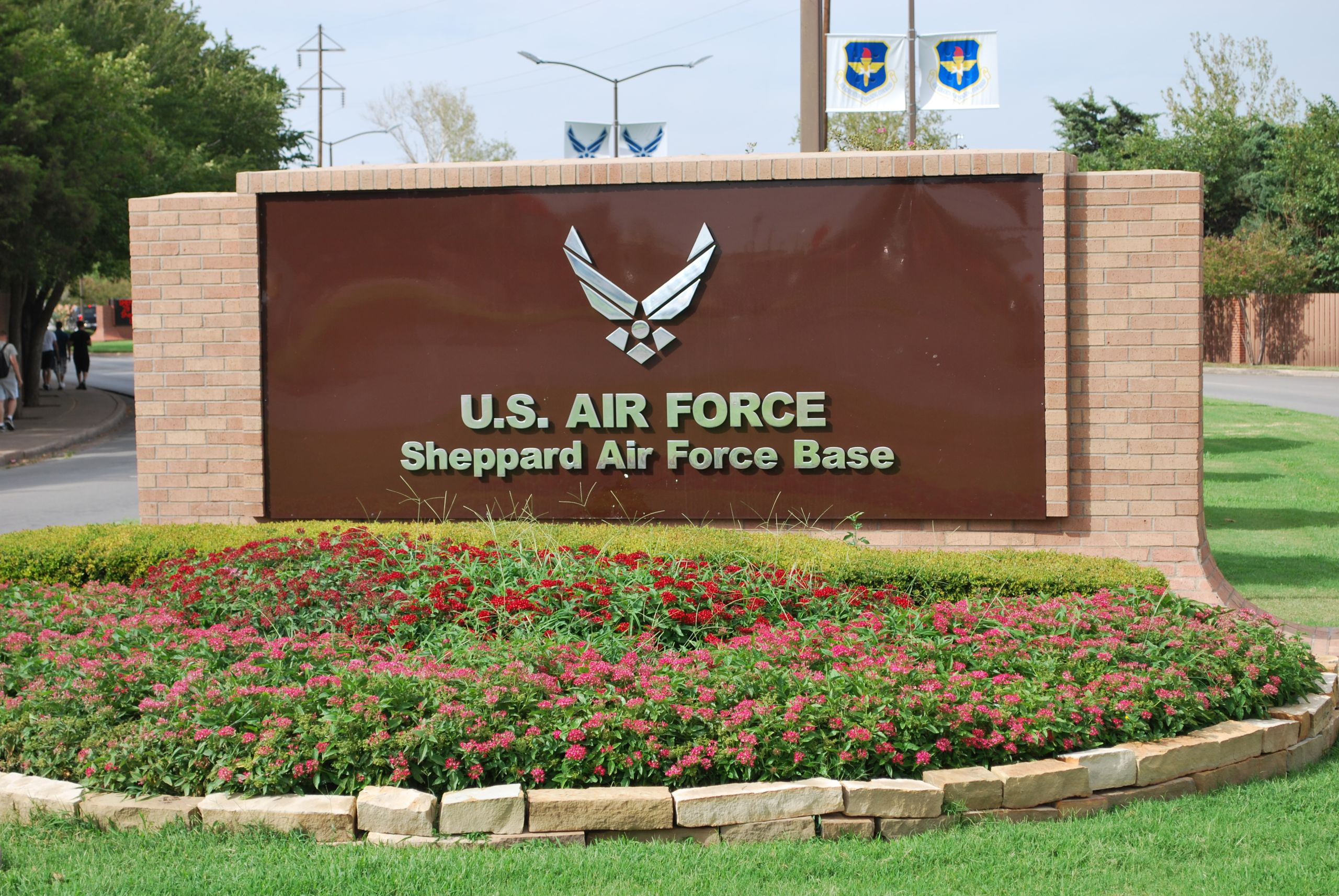 Proud home of Sheppard AFB