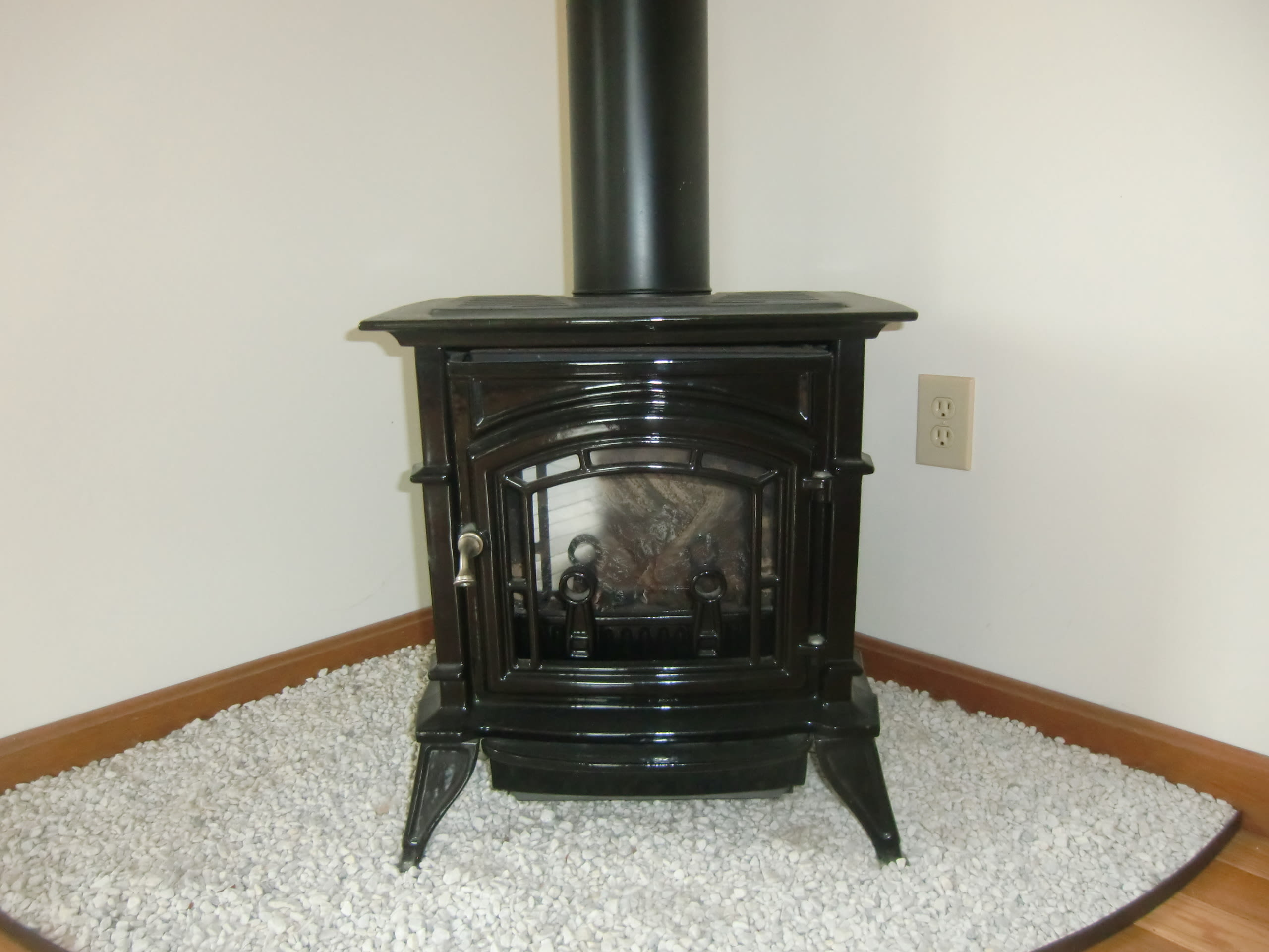 Gas Stove for Chilly Vermont Nights