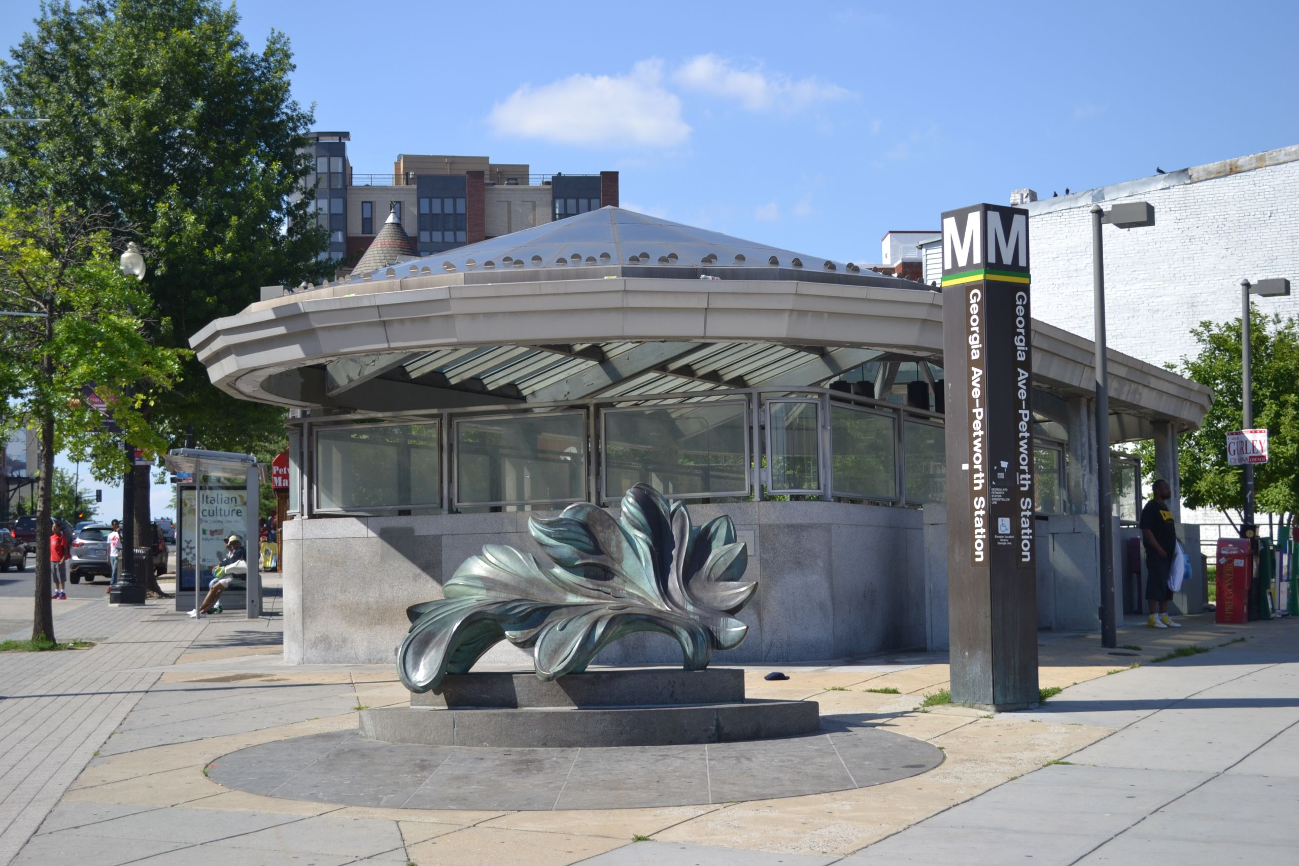 Petworth Metro Station entrance