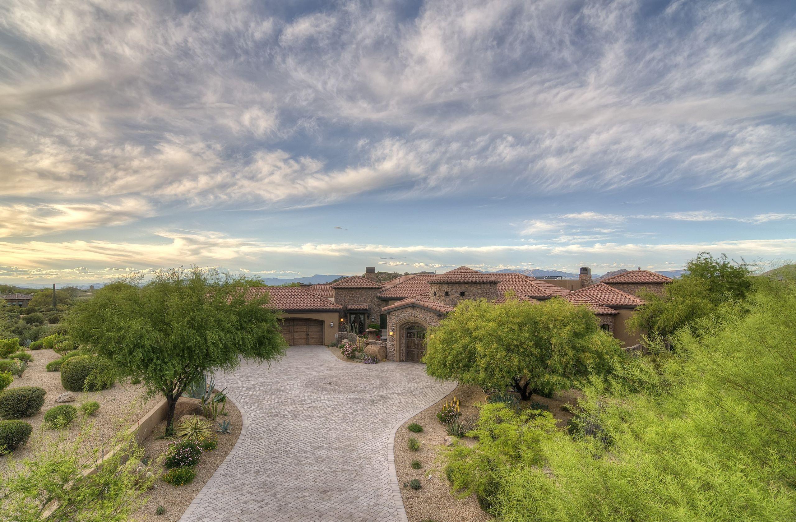 26868 N 117TH Place Scottsdale AZ 85262 | 6,088sqft 1.77 acres | 4bed+den 4.5bath