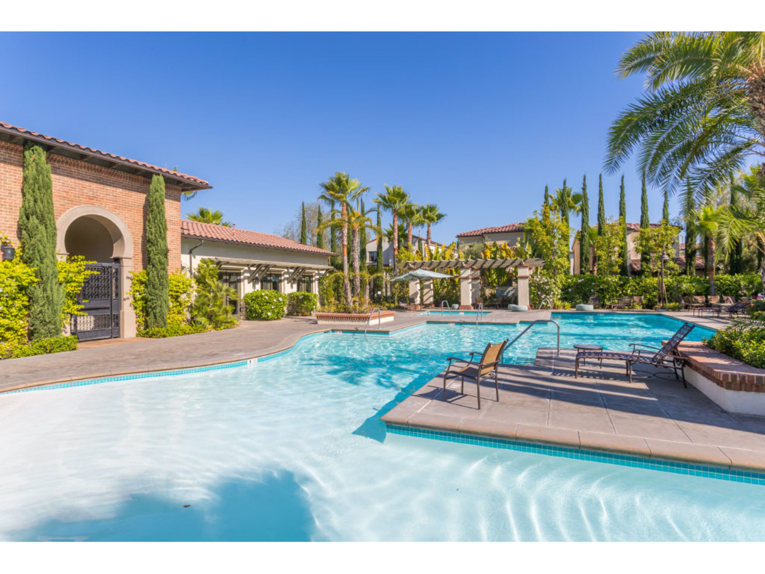 Resort-style Pool in Anaheim