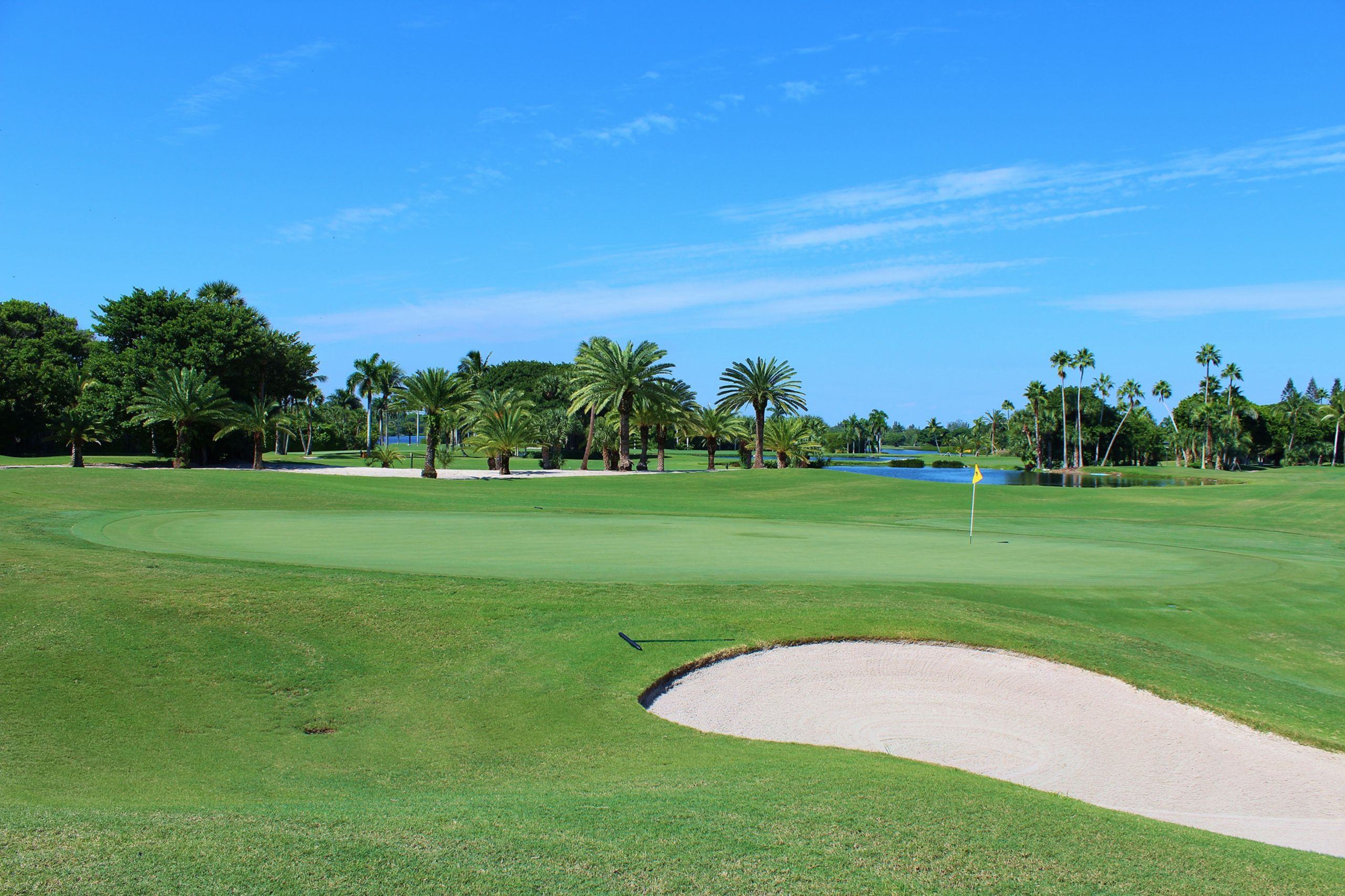 WATERFRONT GOLF COURSES