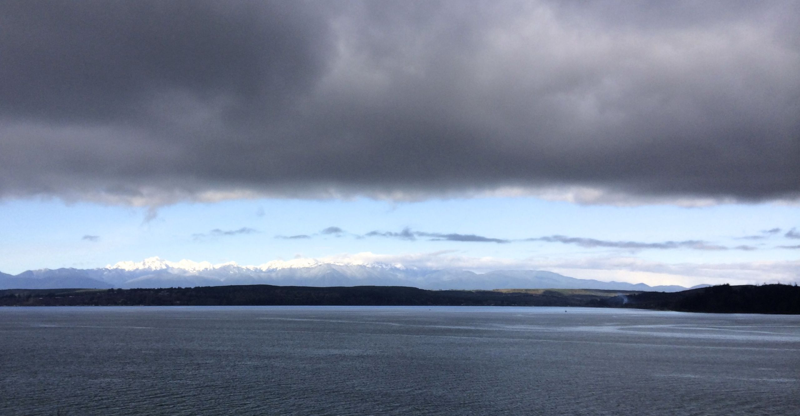 Hood Canal and The Olympic Mnts