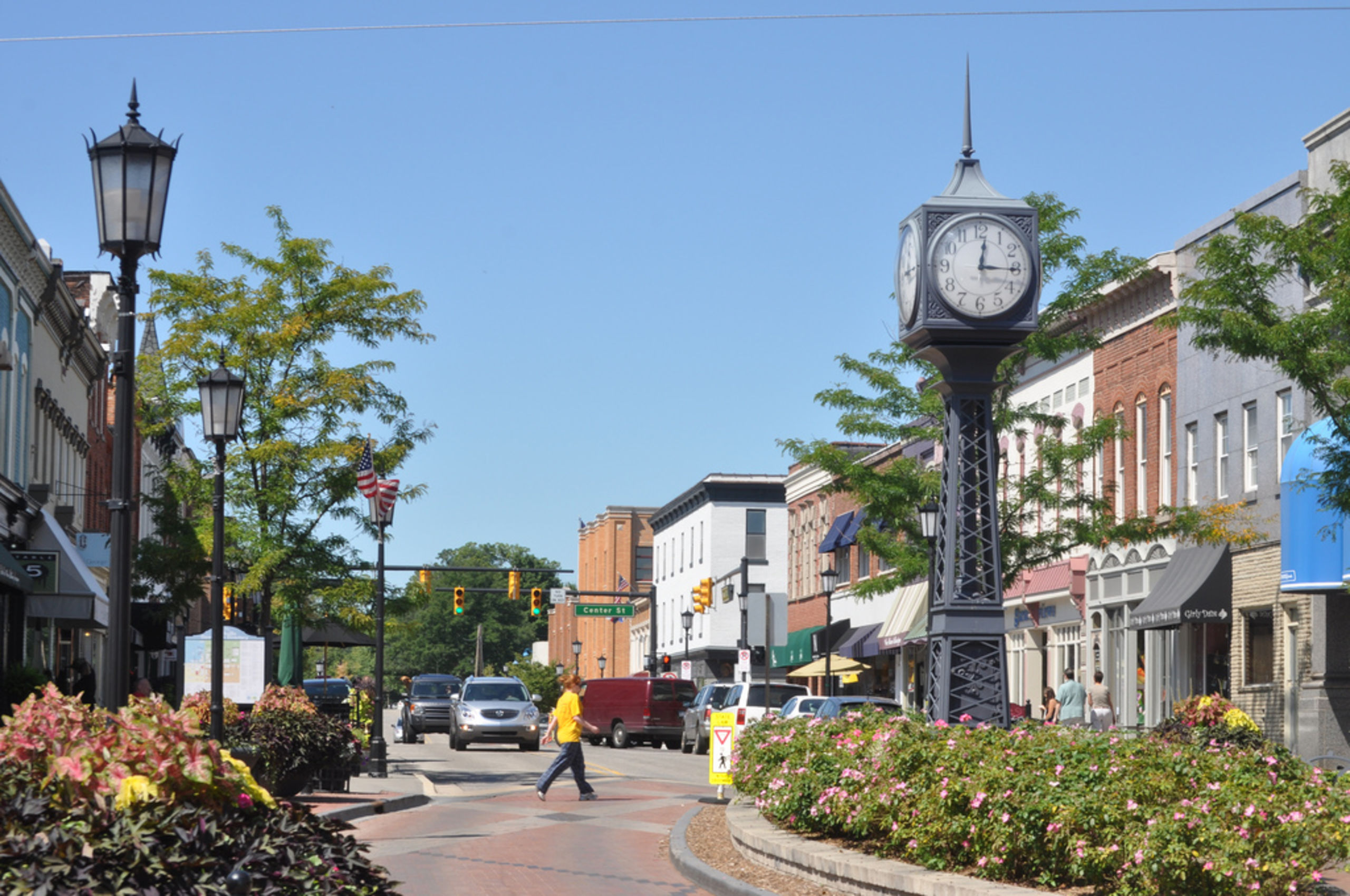 Visit Downtown Northville for great food, shopping and entertainment.