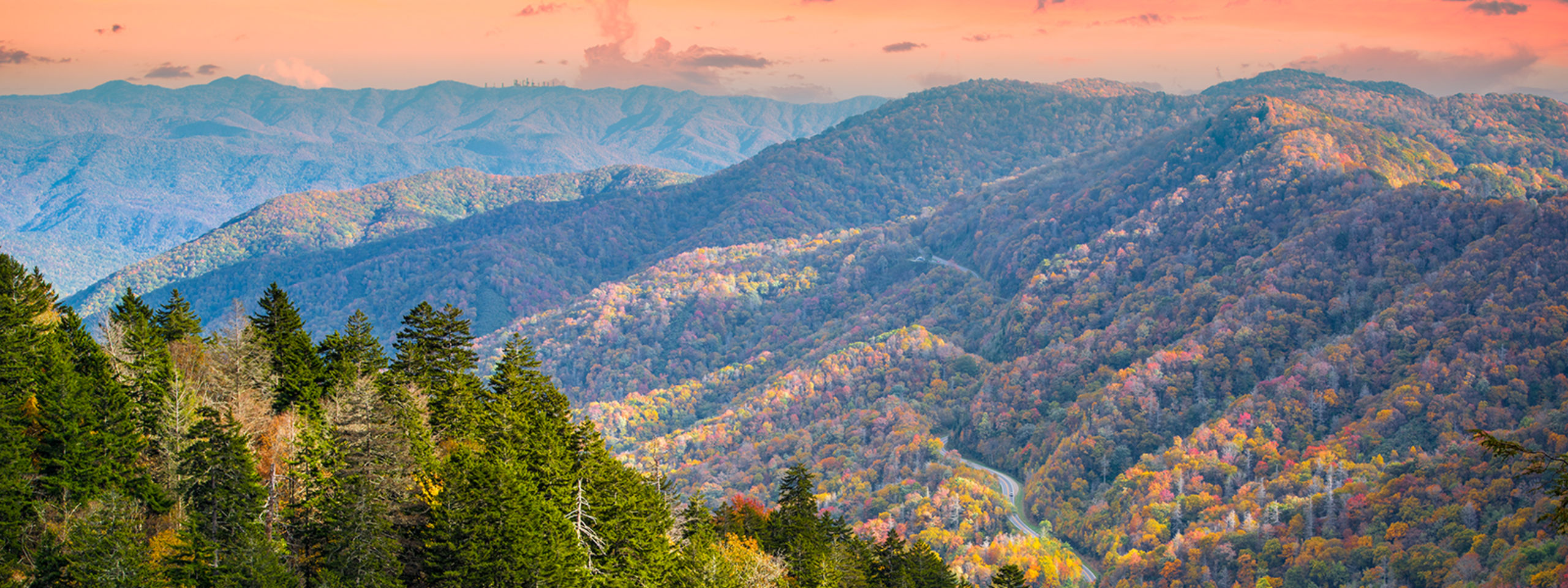 The Smoky Mountains peak fall season is right around the corner