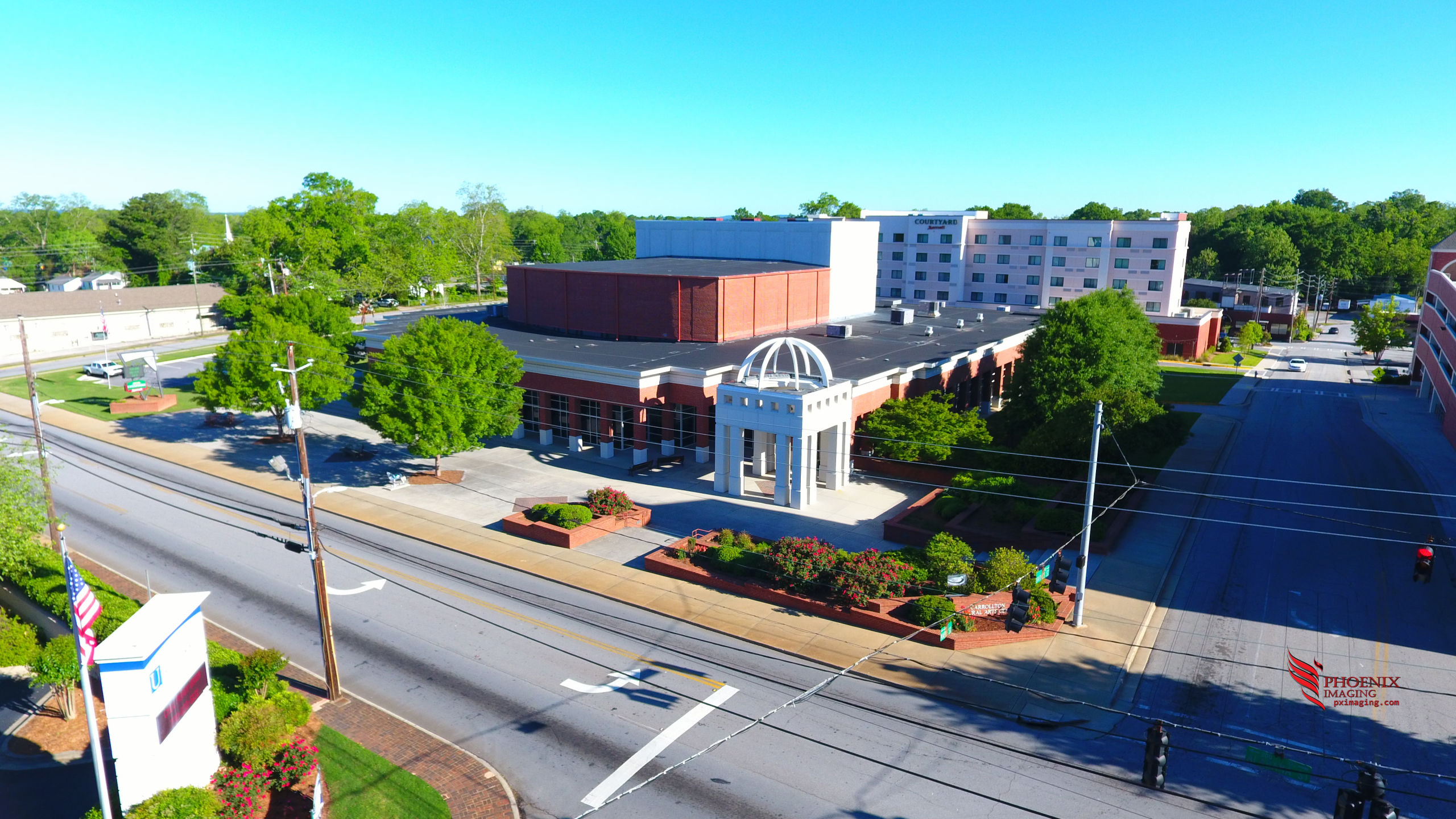 Welcome to the Cultural Arts Center in downtown Carrollton, Georgia!