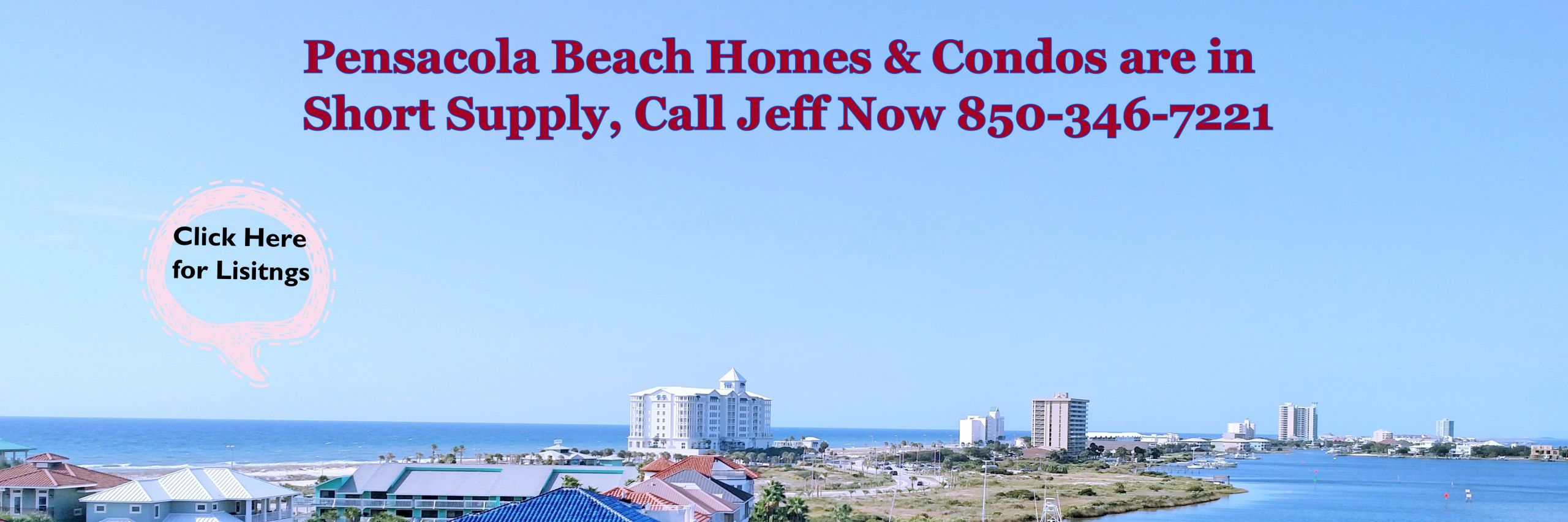 Click for Pensacola Beach Listings